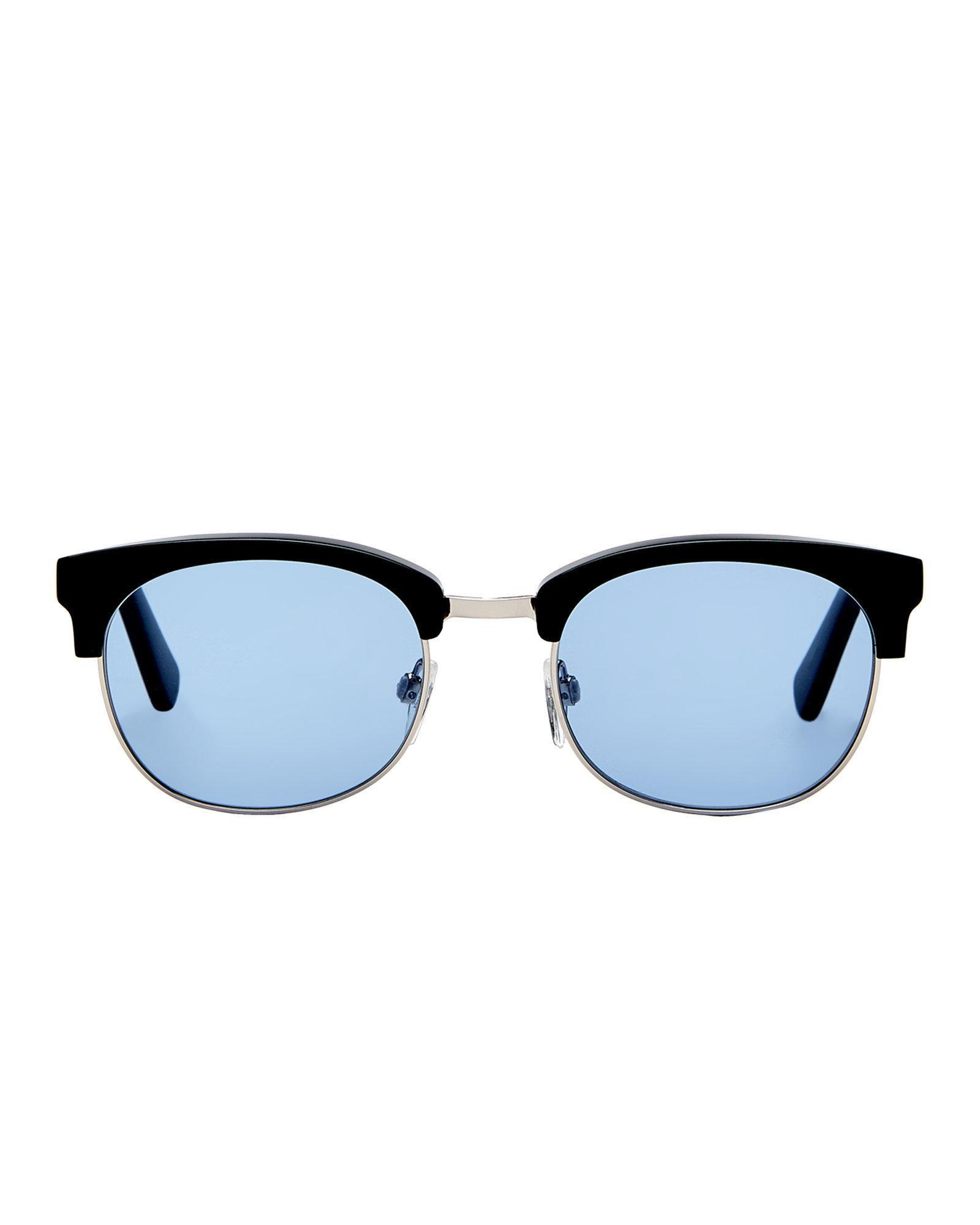 e915251c55d Lyst - Just Cavalli Jc778s Black Wayfarer Sunglasses in Black for Men