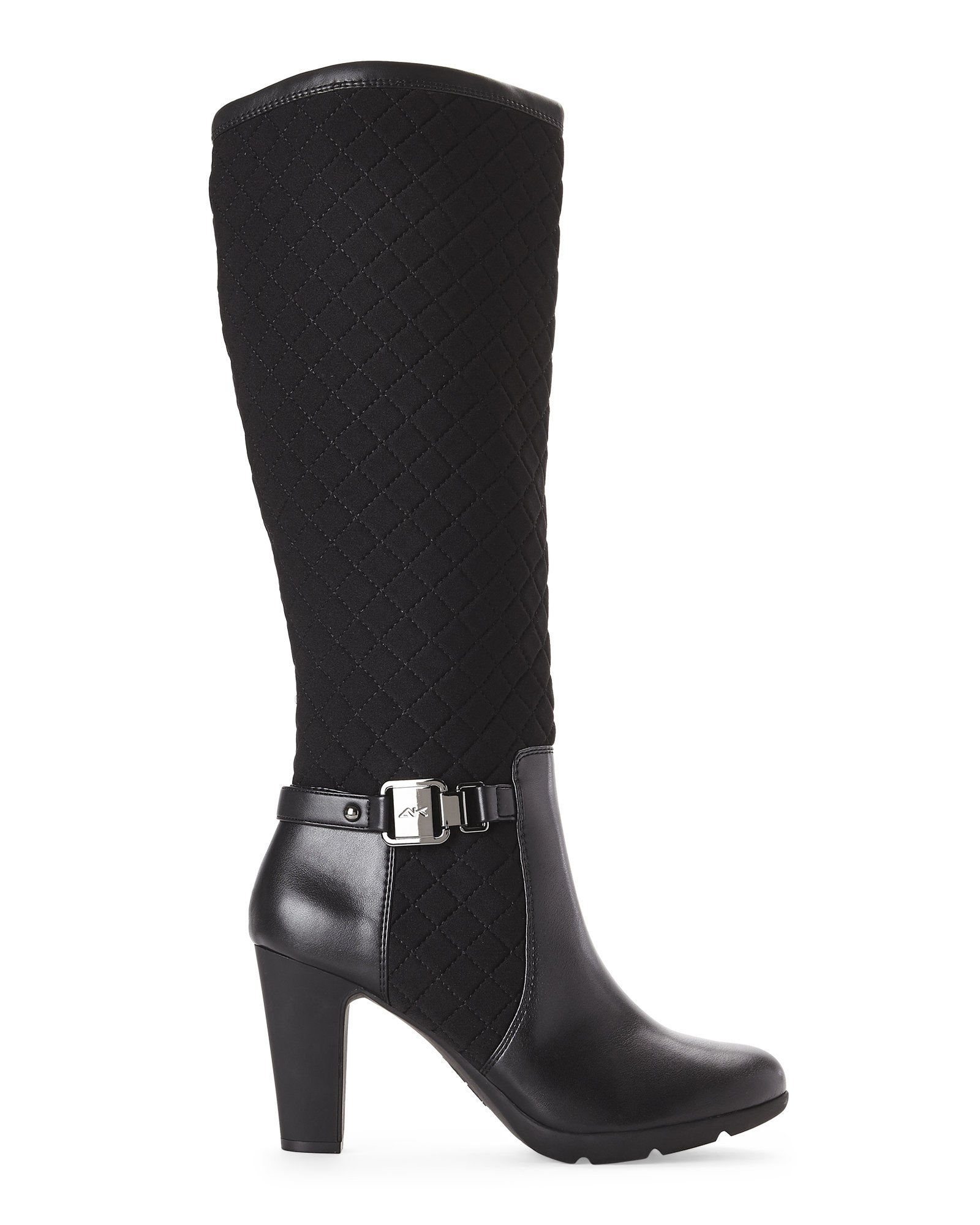 Ak Anne Klein Black Xtended Tall Boots In Black Lyst