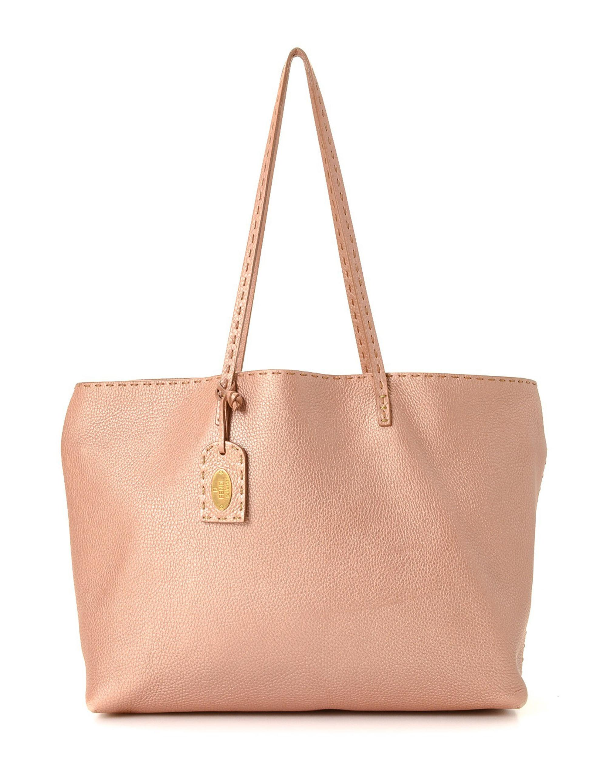 a27387832abf Lyst - Fendi Selleria Tote Bag - Vintage in Pink