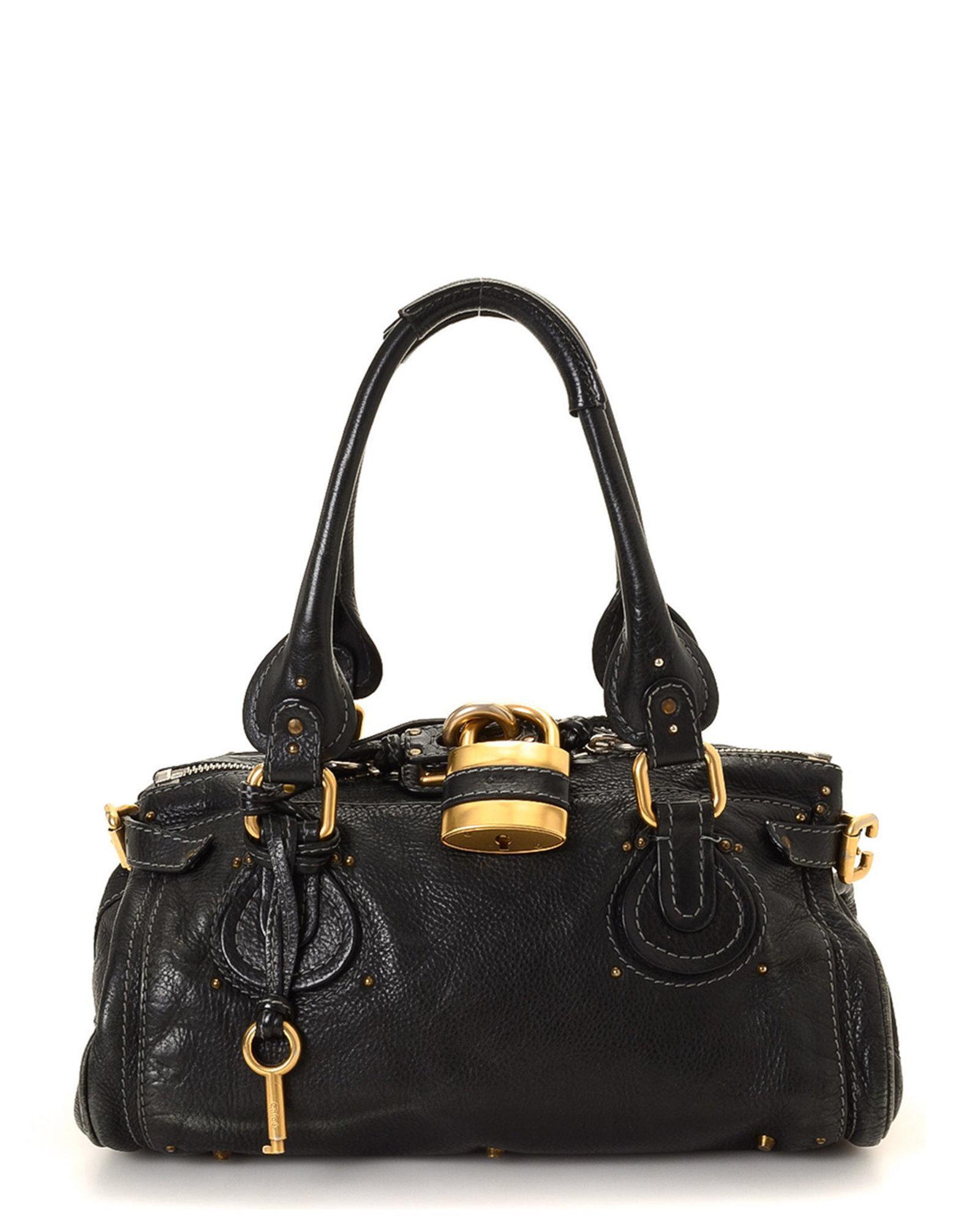 25bafd0e903c Lyst - Chloé Paddington Handbag - Vintage in Black
