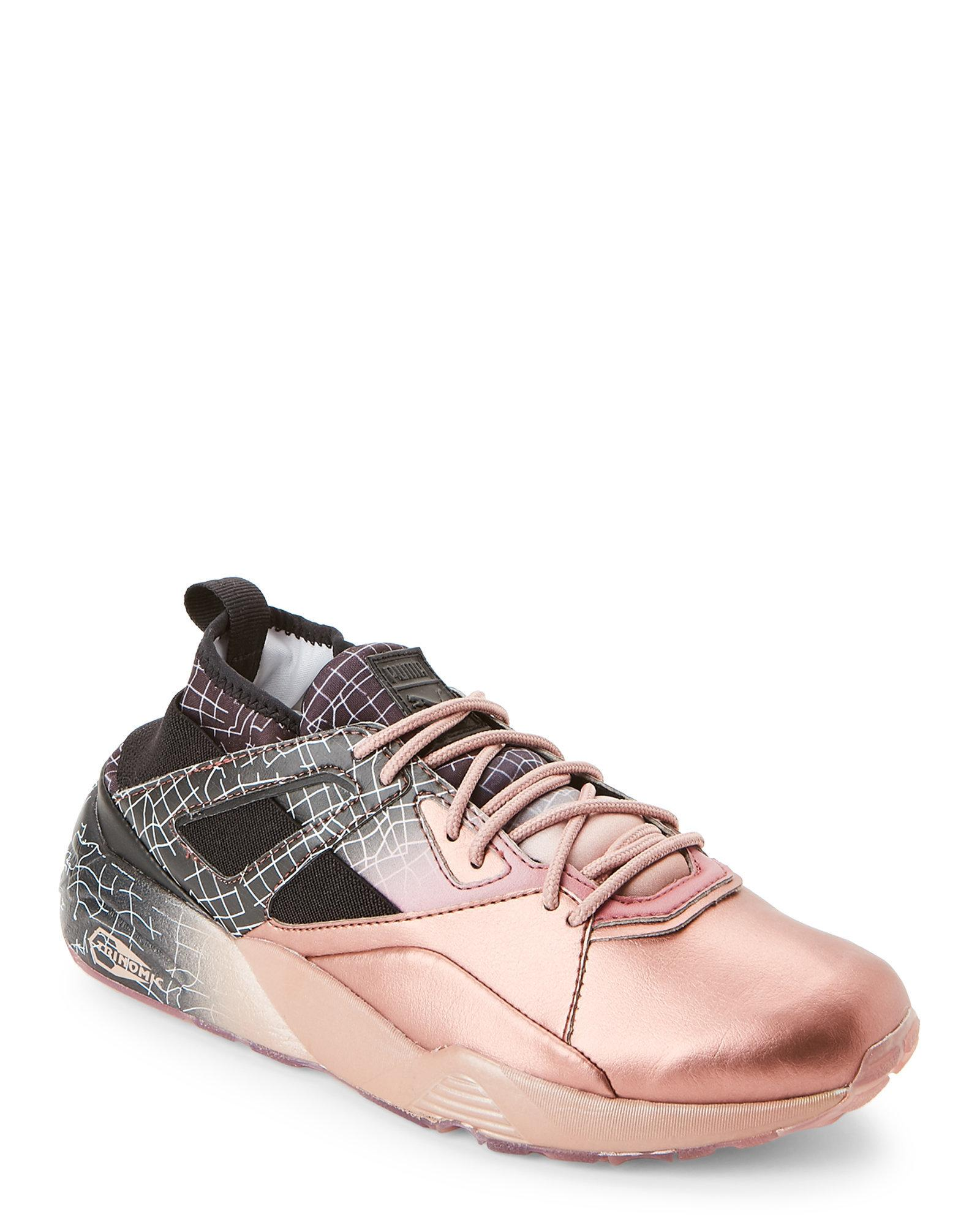 puma ignite rose gold