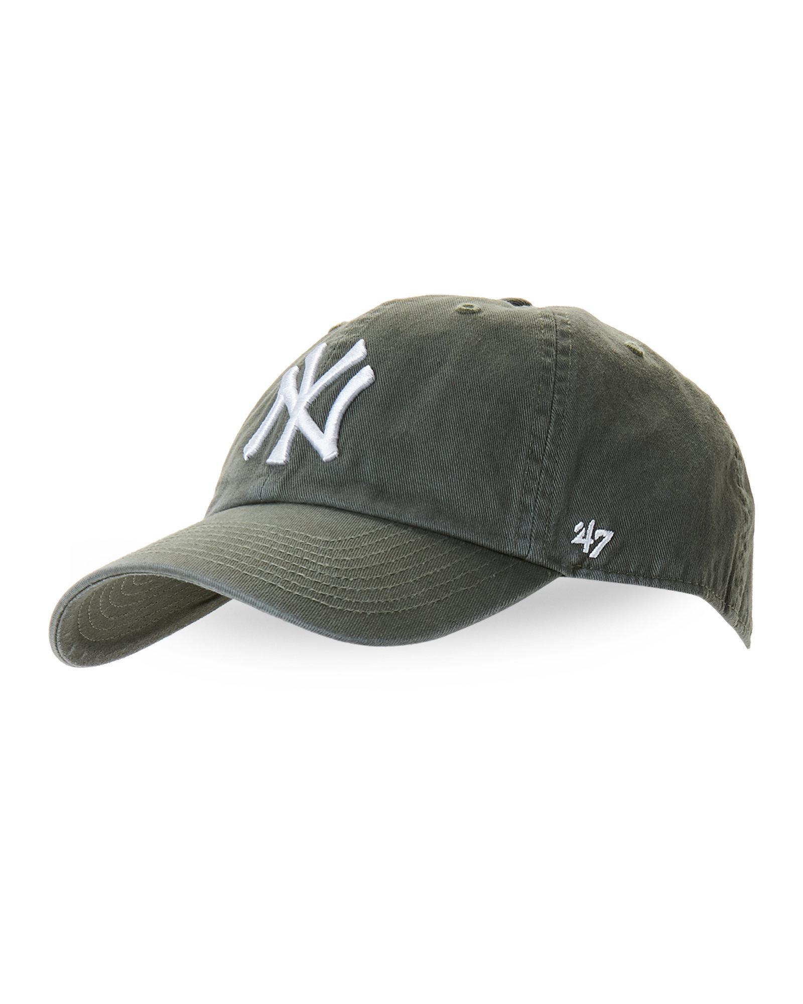 f3a12034250 Lyst - 47 Brand New York Yankees Baseball Cap in Green for Men