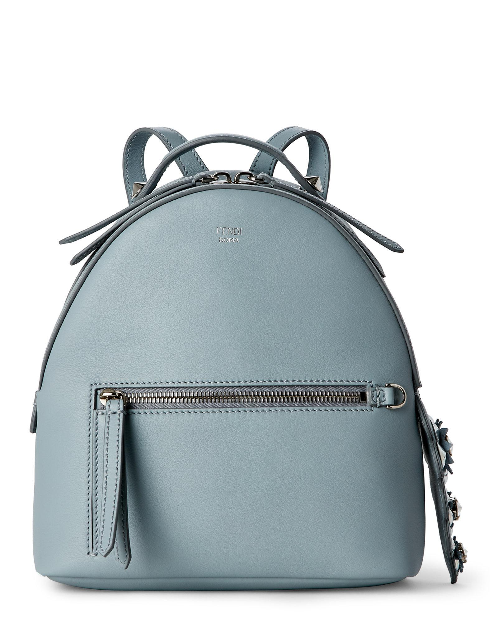 5d780dc3143e Lyst - Fendi Small Backpack in Gray