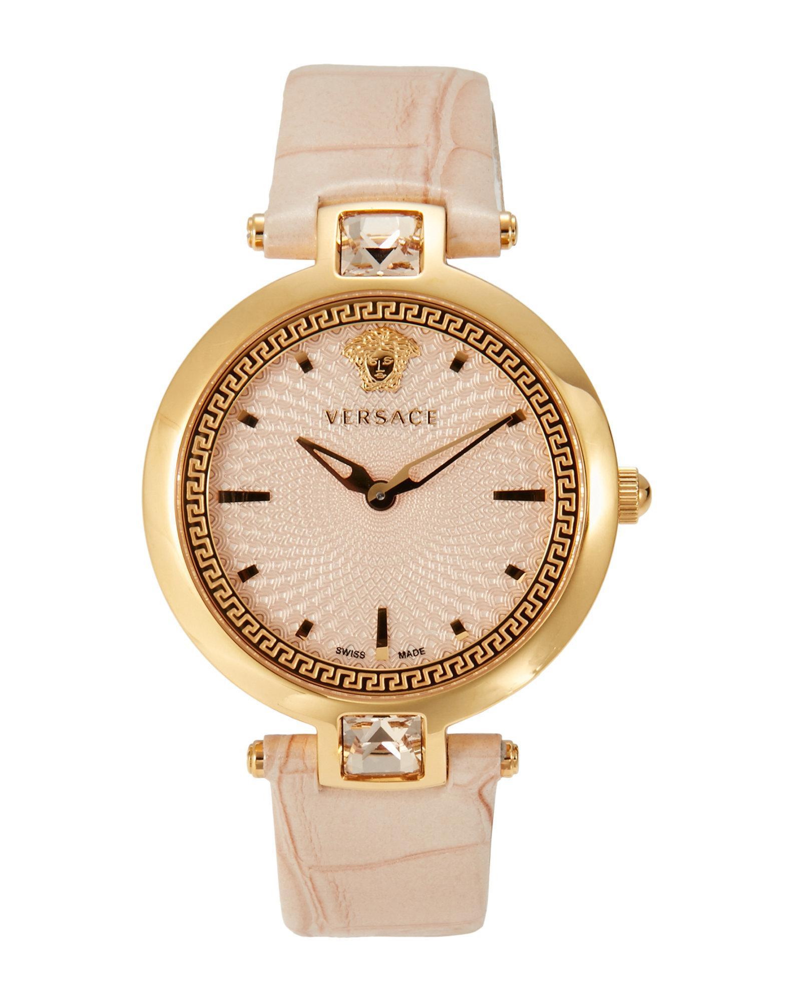 versace van050016 gold tone in metallic lyst