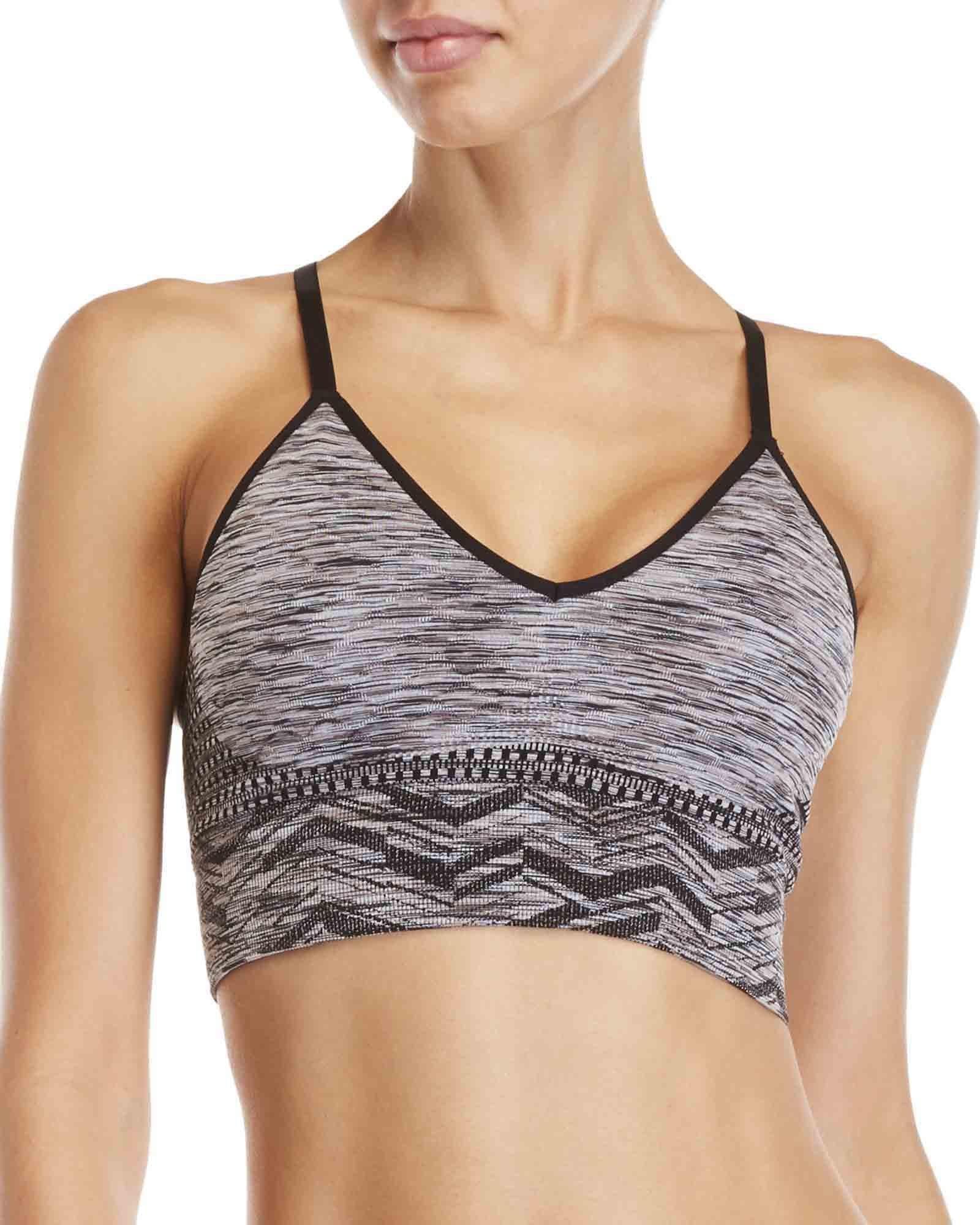 d5d5ee14df41d Lyst - Climawear Breakthrough Space-dye Sports Bra in Black