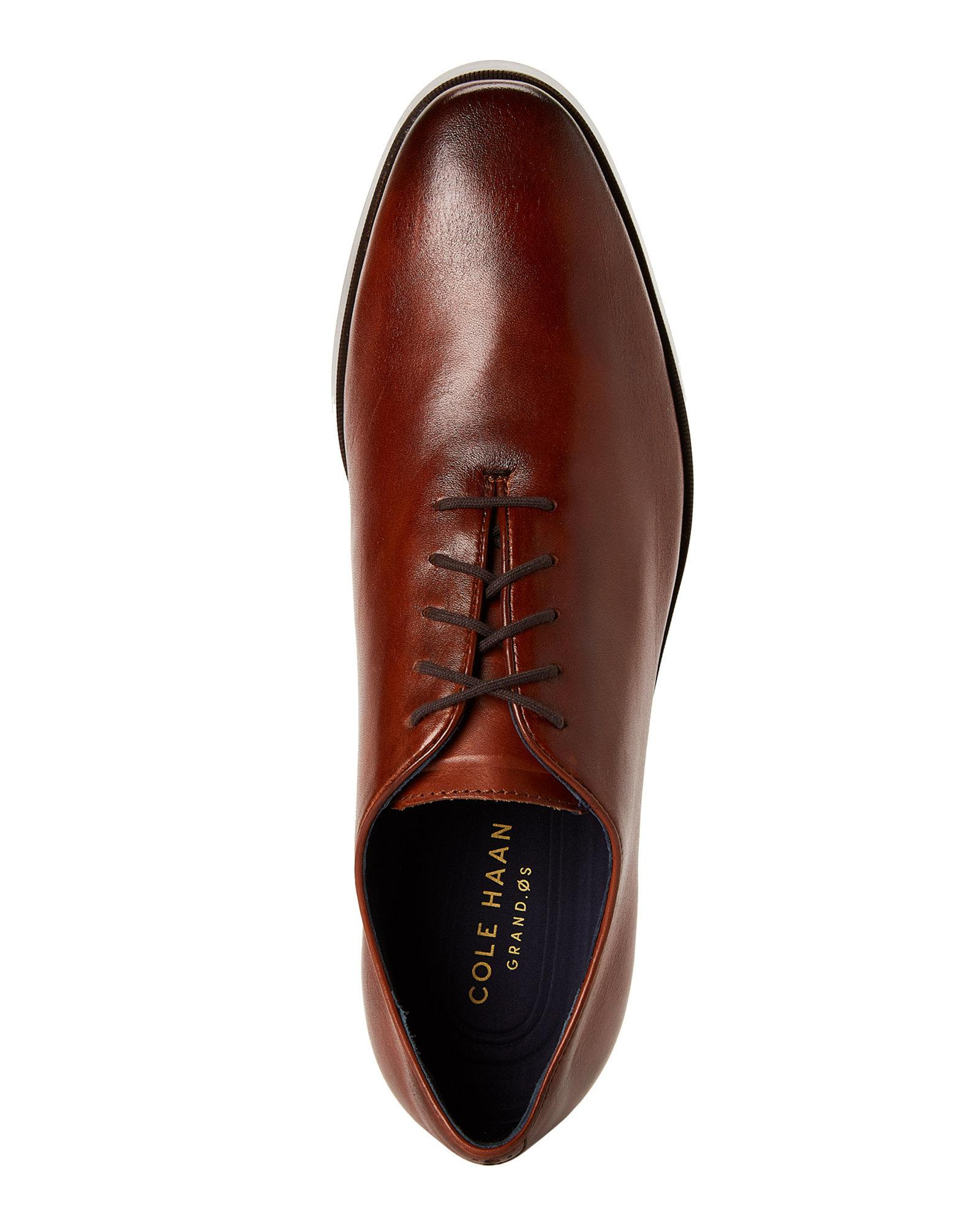 fashion style beauty new design Cole Haan Brown British Tan Jefferson Grand Wholecut Oxfords for men