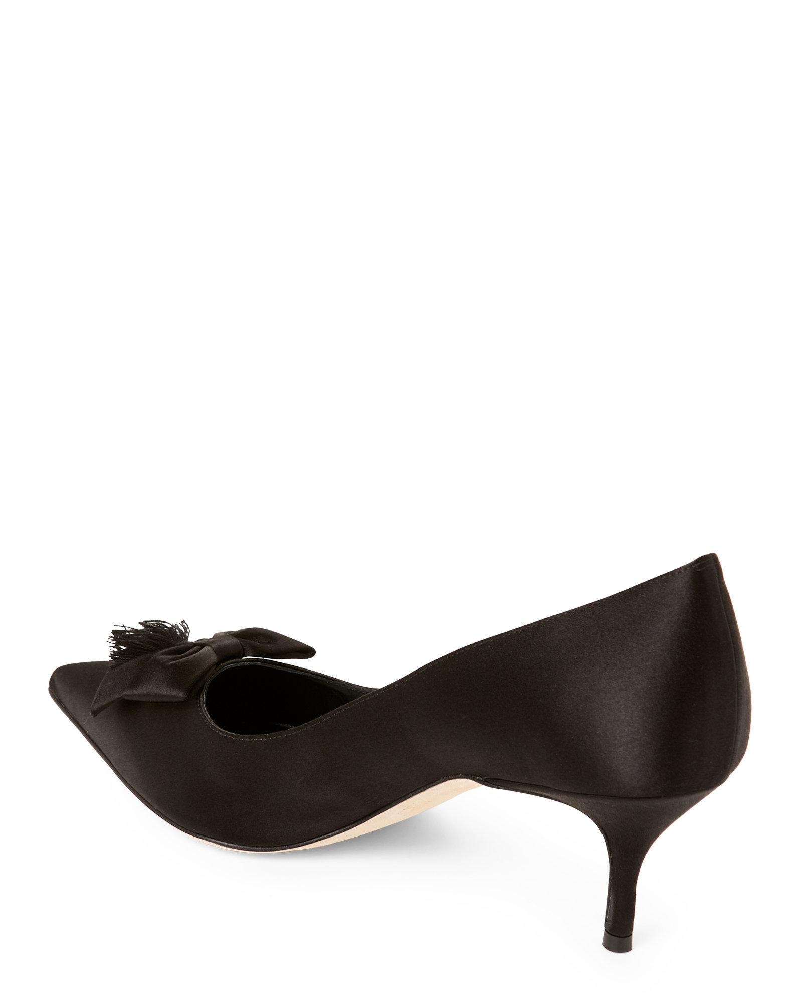 Manolo Blahnik Karung Bow-Accented Mules cheap sale for nice buy cheap clearance pay with visa for sale LdsWzUykEv