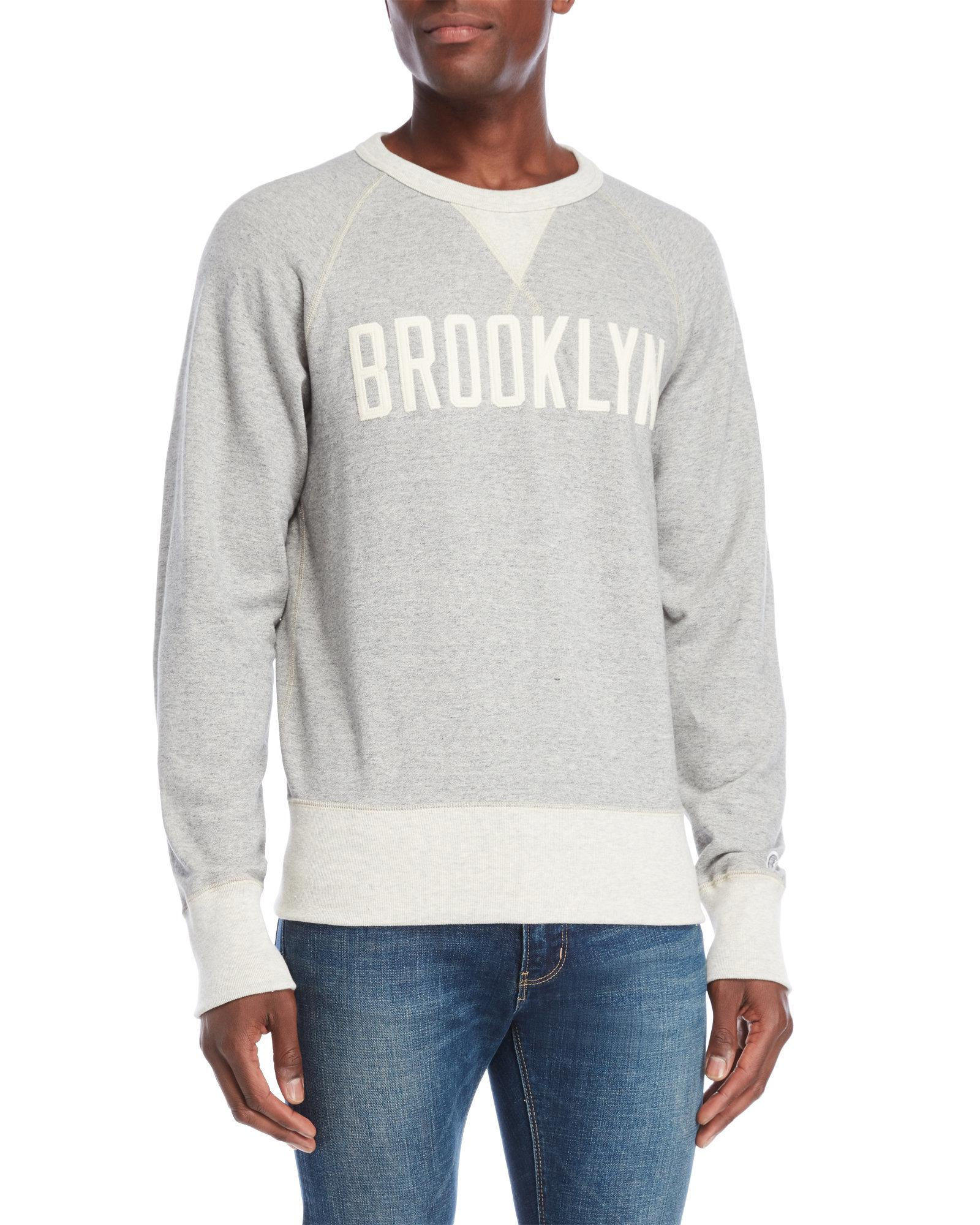 0be794f90bb6 Lyst - Champion Grey Brooklyn Sweatshirt in Gray for Men