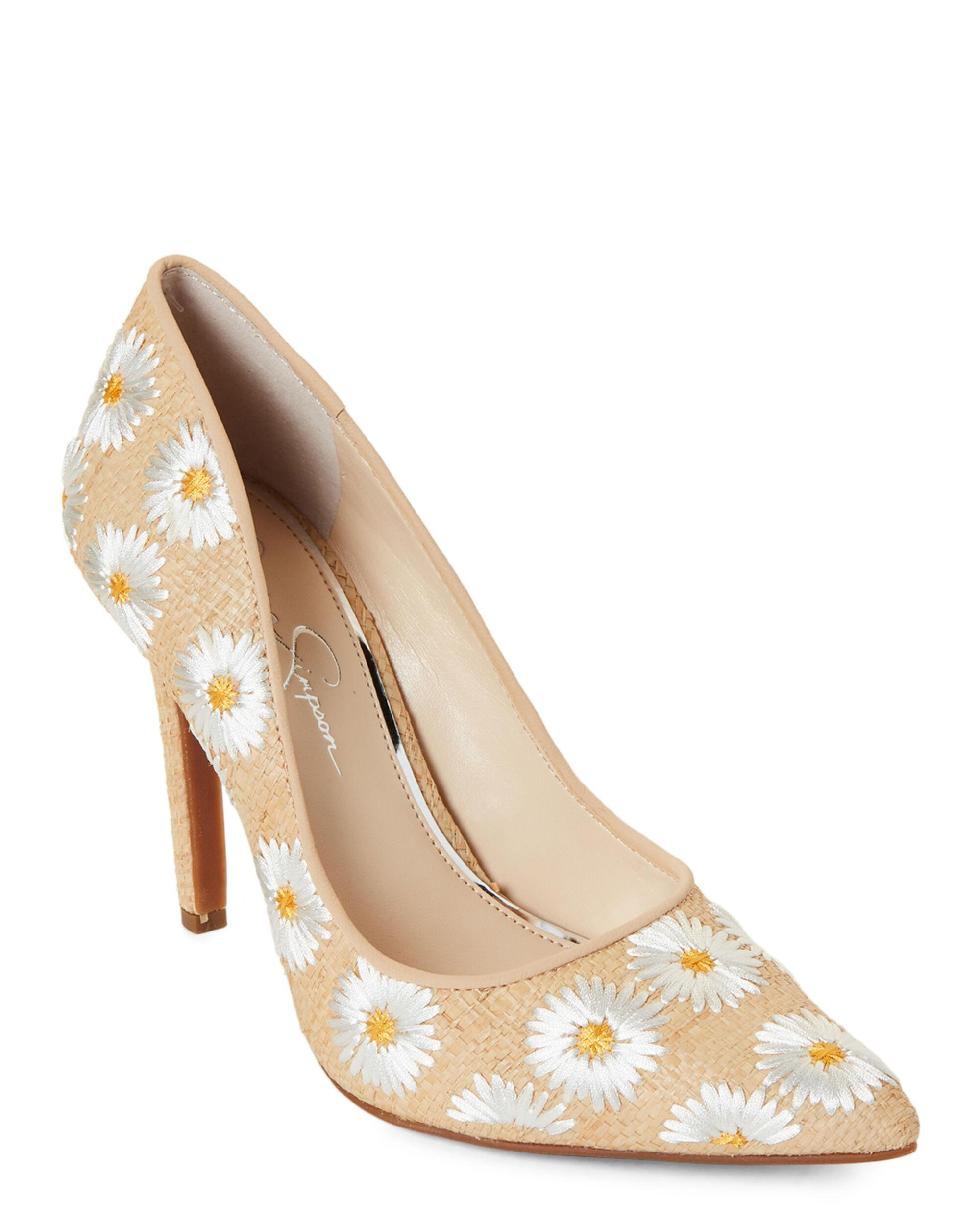 Details about Jessica Simpson Cassani Yellow Shock Patent Pointy High Heel Pumps