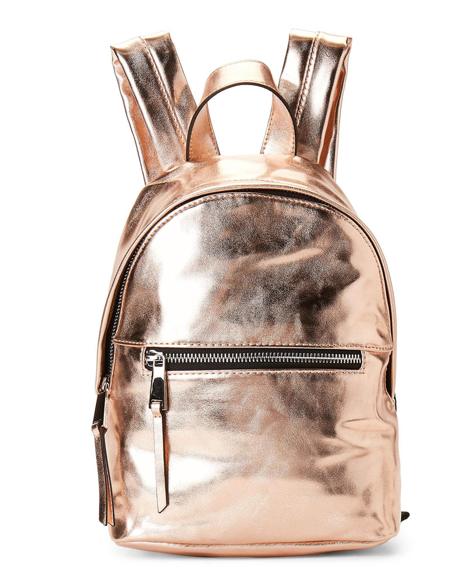 f3f6c63223 Lyst - French Connection Rose Gold Jace Mini Backpack