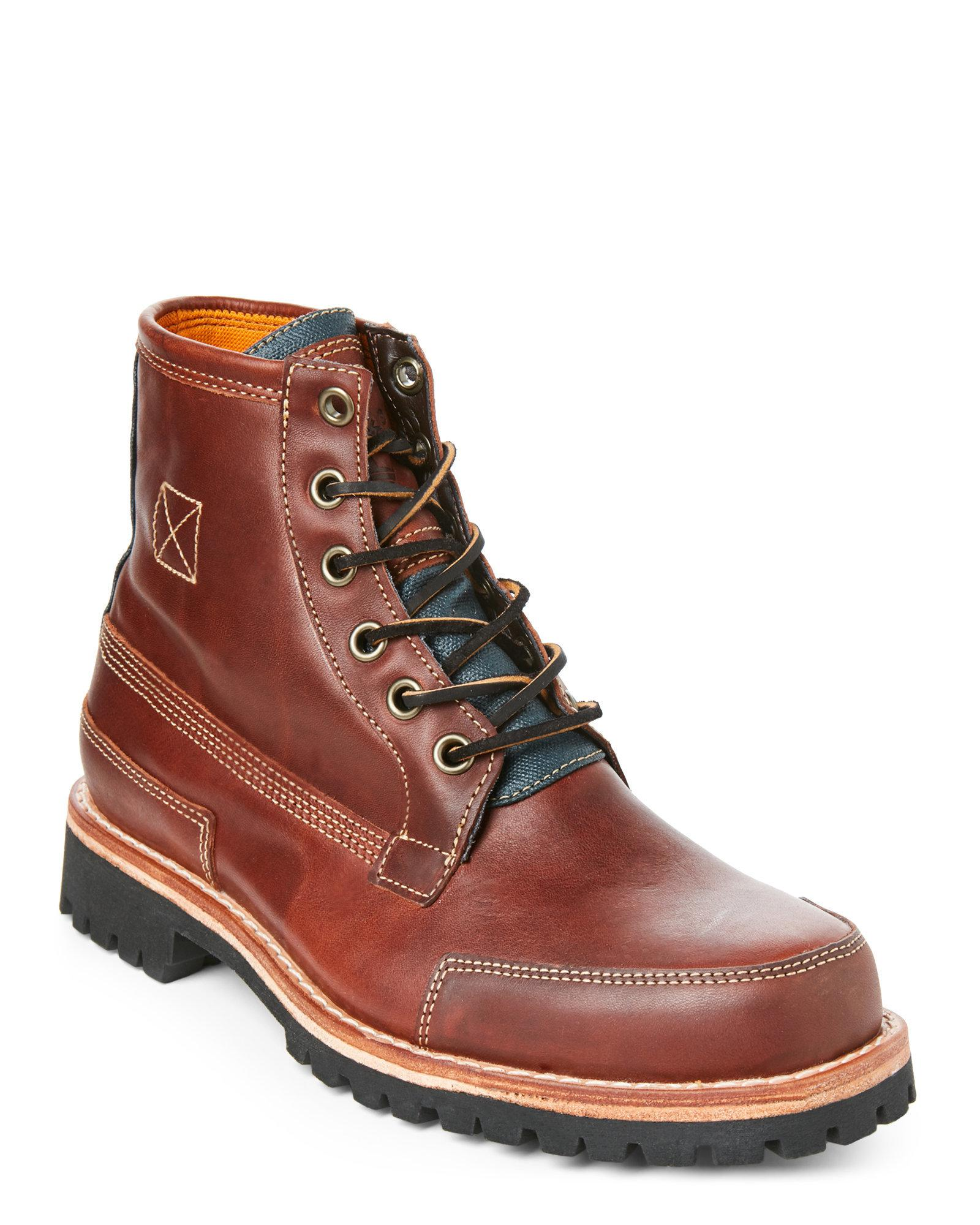 fc31f88be4d ... Lyst - Timberland Sundance Ltd Leather Boots in Brown for Me; Timberland  Mens Wheat Premium 6 Inch ...