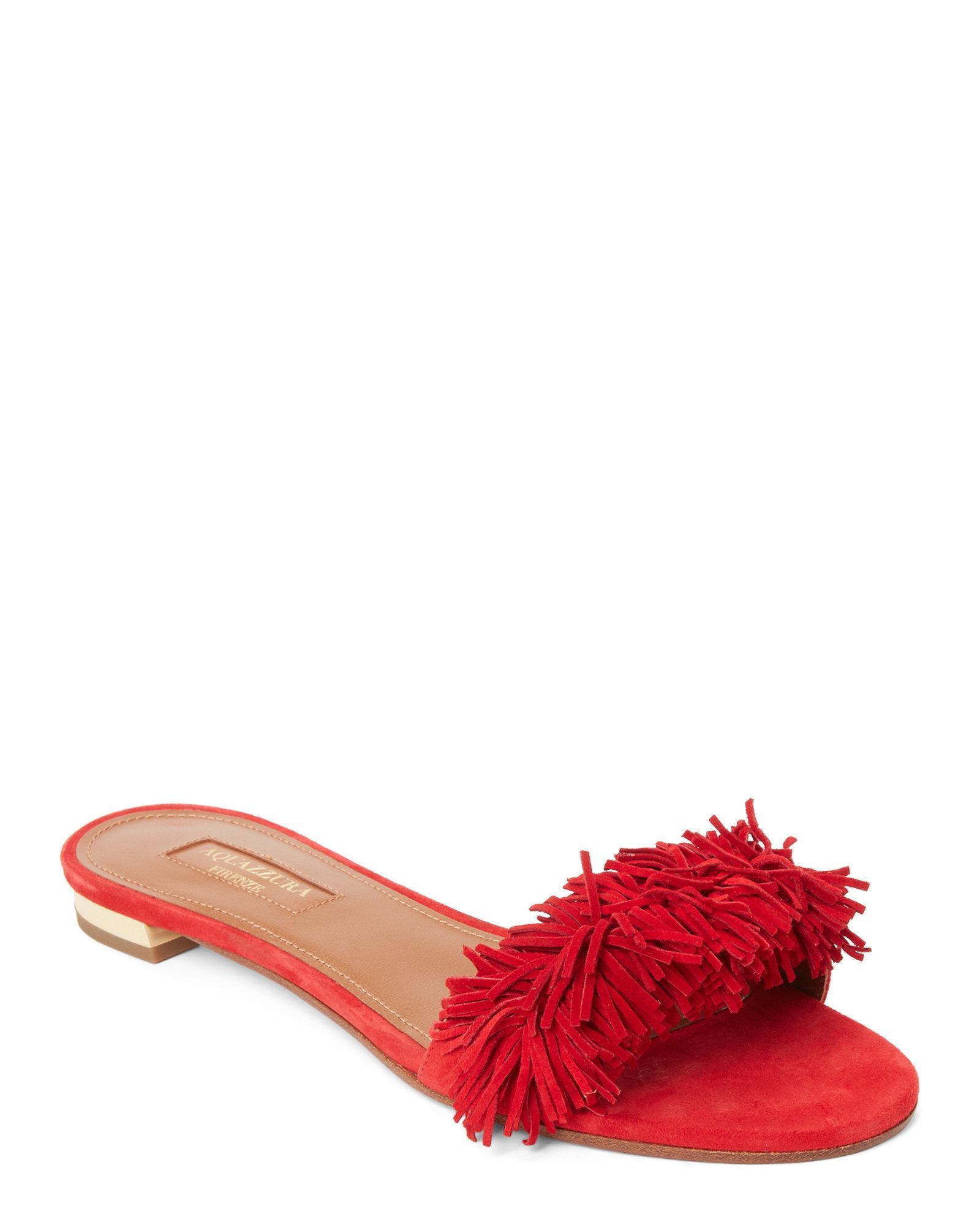5074138e2a57 aquazzura-Lipstick-Lipstick-Wild-Thing-Fringe-Slide-Sandals.jpeg