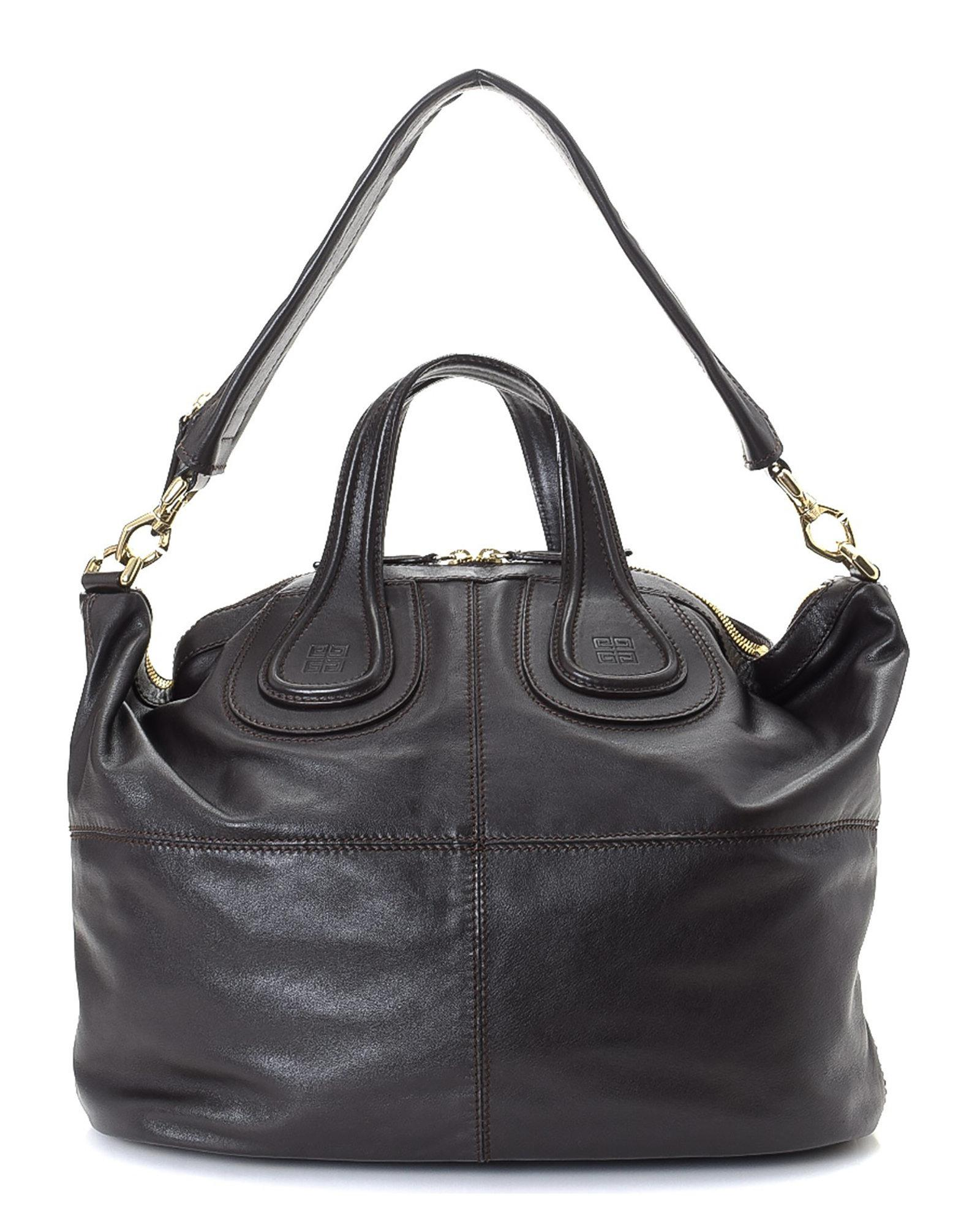 Lyst - Givenchy Nightingale Two Way Leather Shoulder Bag - Vintage ... 134bb80438db1