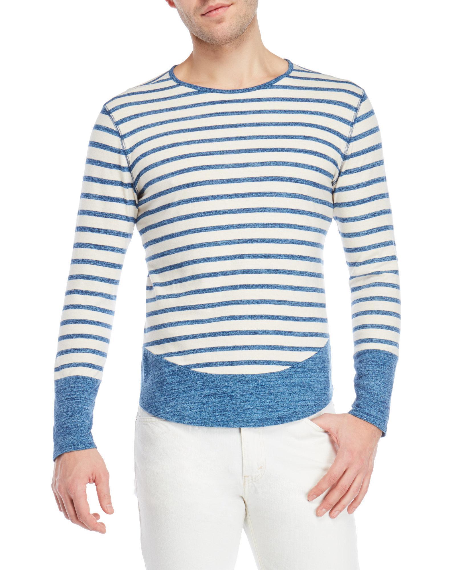 Free Shipping Cheap Cheap Amazon Mens Rib-Knit Linen-Blend T-Shirt Max uu9valw