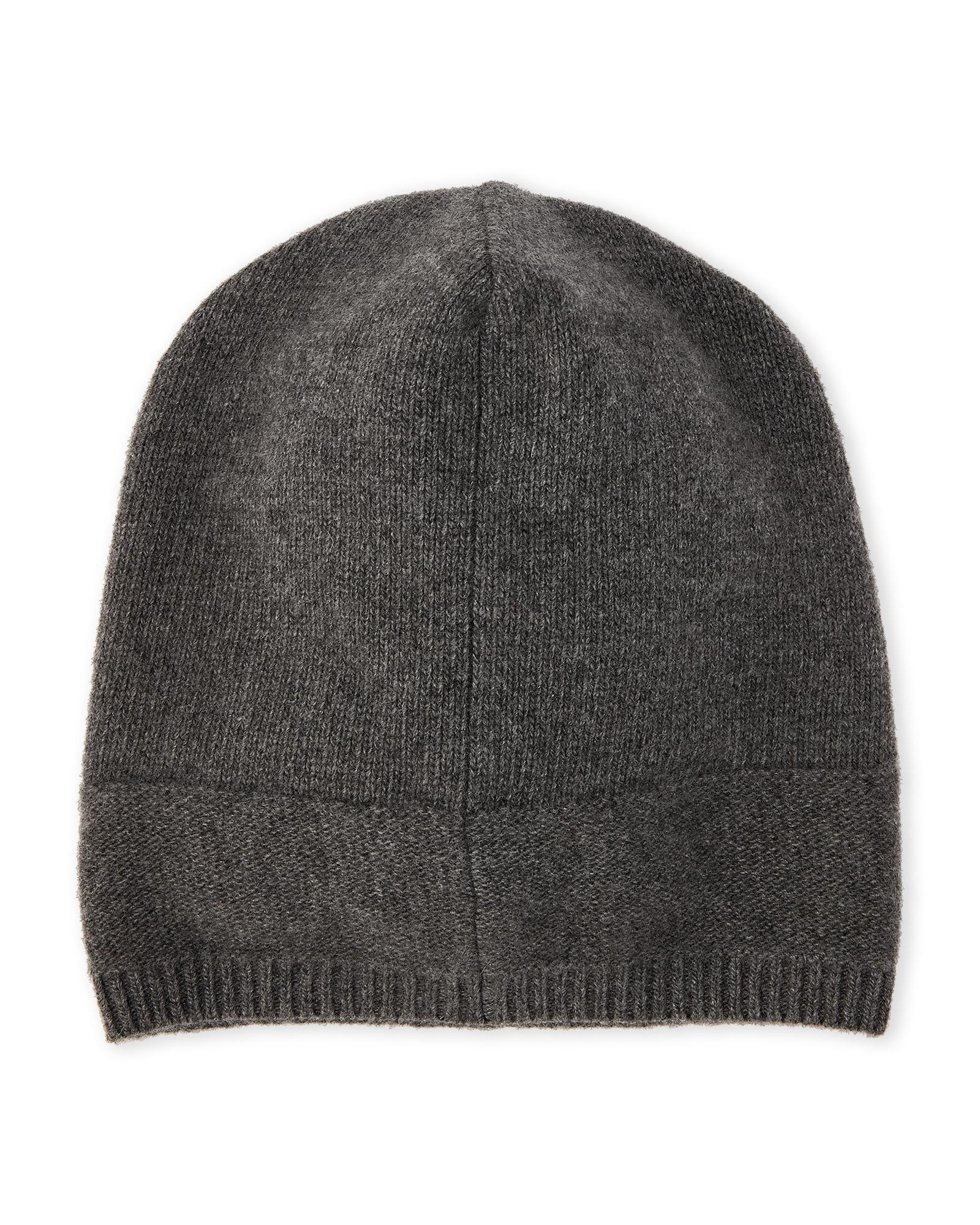 Lyst - Portolano Solid Slouchy Cashmere Beanie in Gray for Men ac835a75c382