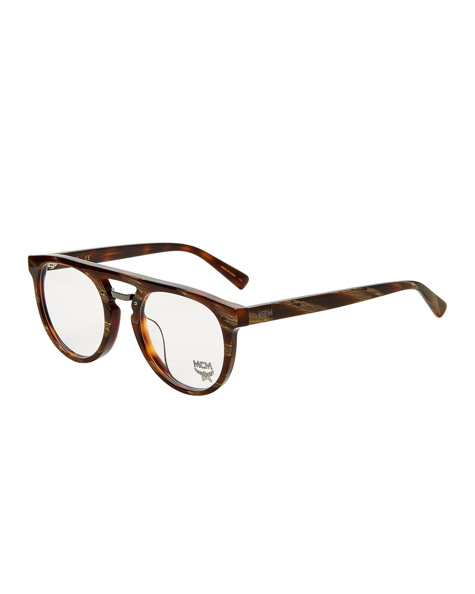 Lyst - Mcm 2626a Retro Round Optical Frames in Brown