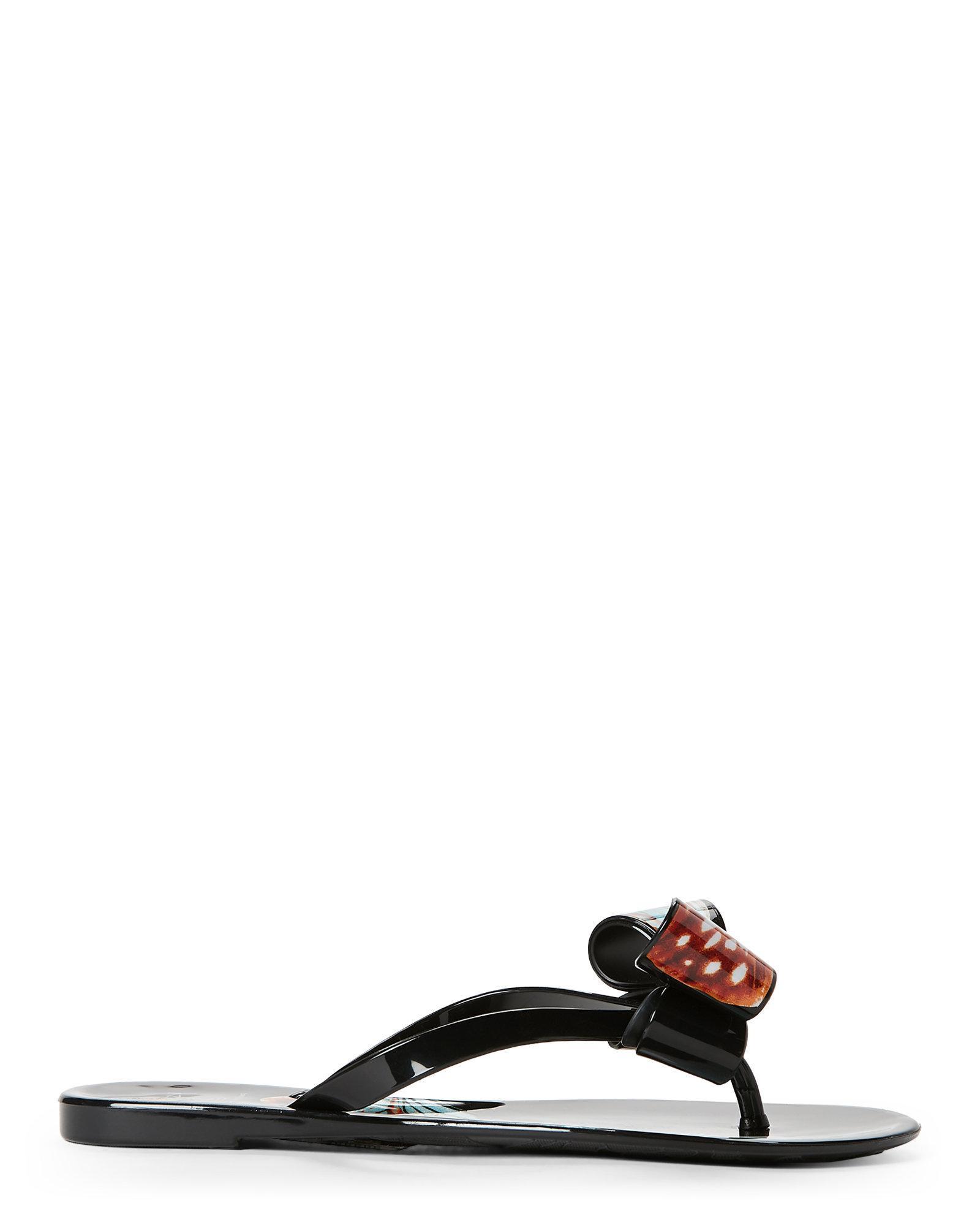 863efc8ce090 Lyst dizzy studded jelly flip flops in black jpg 1600x2000 Jelly studded dizzy  shoes flip flops