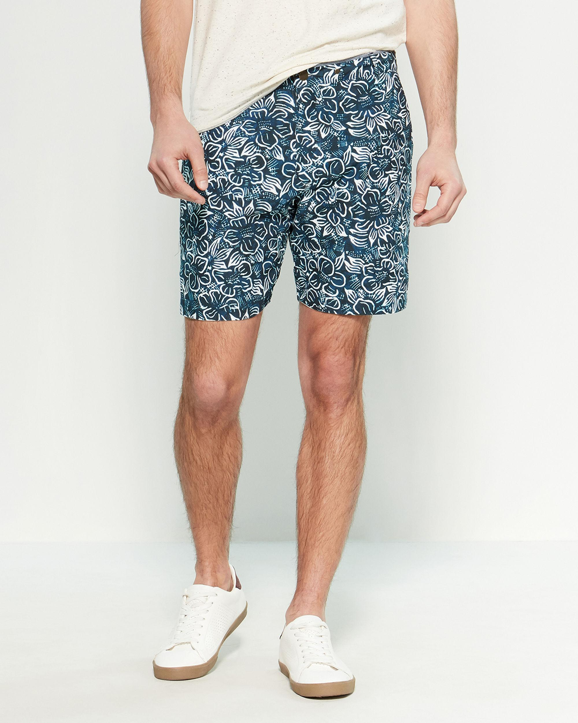 c969993560bb Lyst - Descendant Of Thieves Navy Island Reversible Shorts in Blue ...