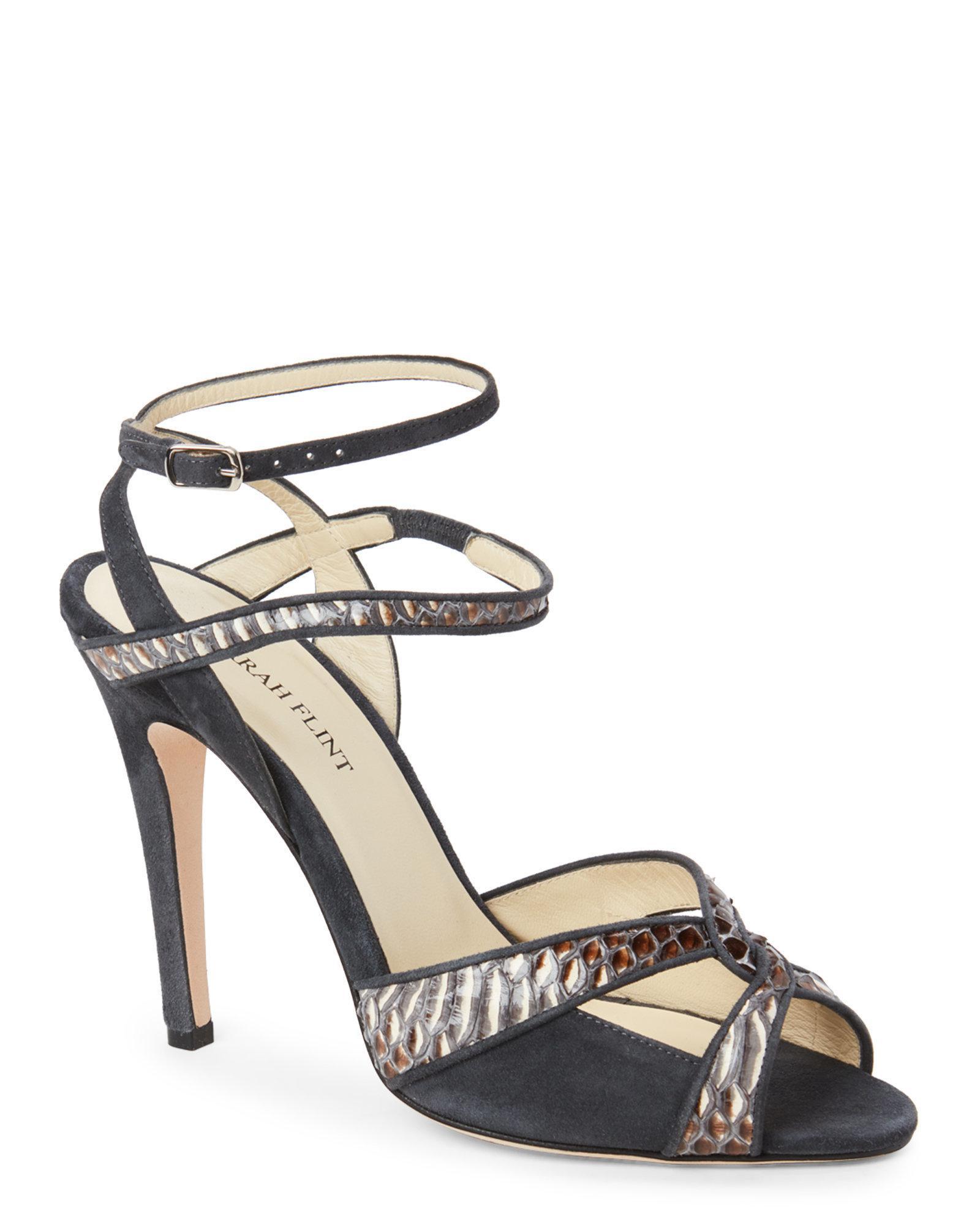 Sarah Flint Jewelled heel sandals