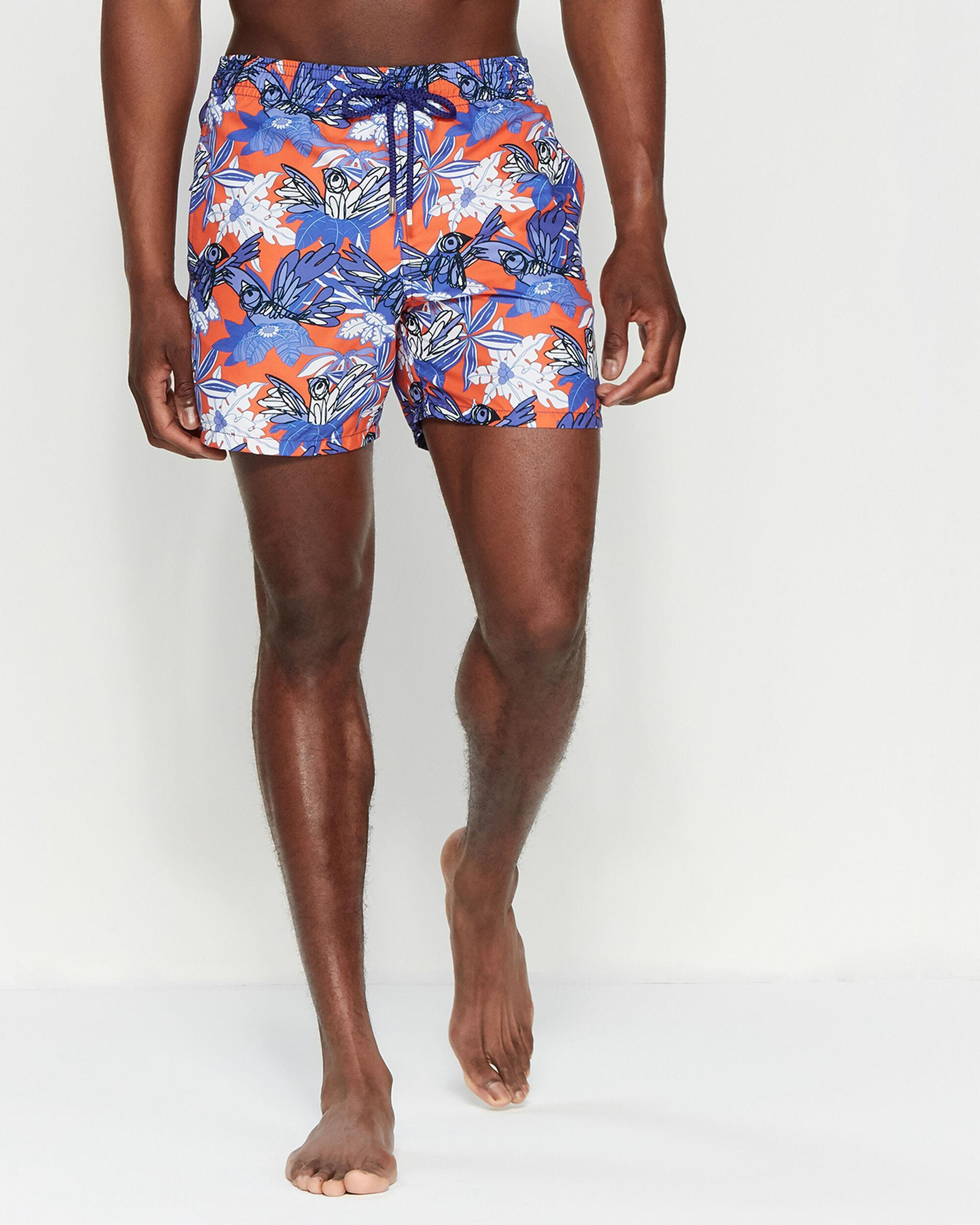 fe67a0f19b Vilebrequin Forest Paradise Swim Trunks in Blue for Men - Lyst