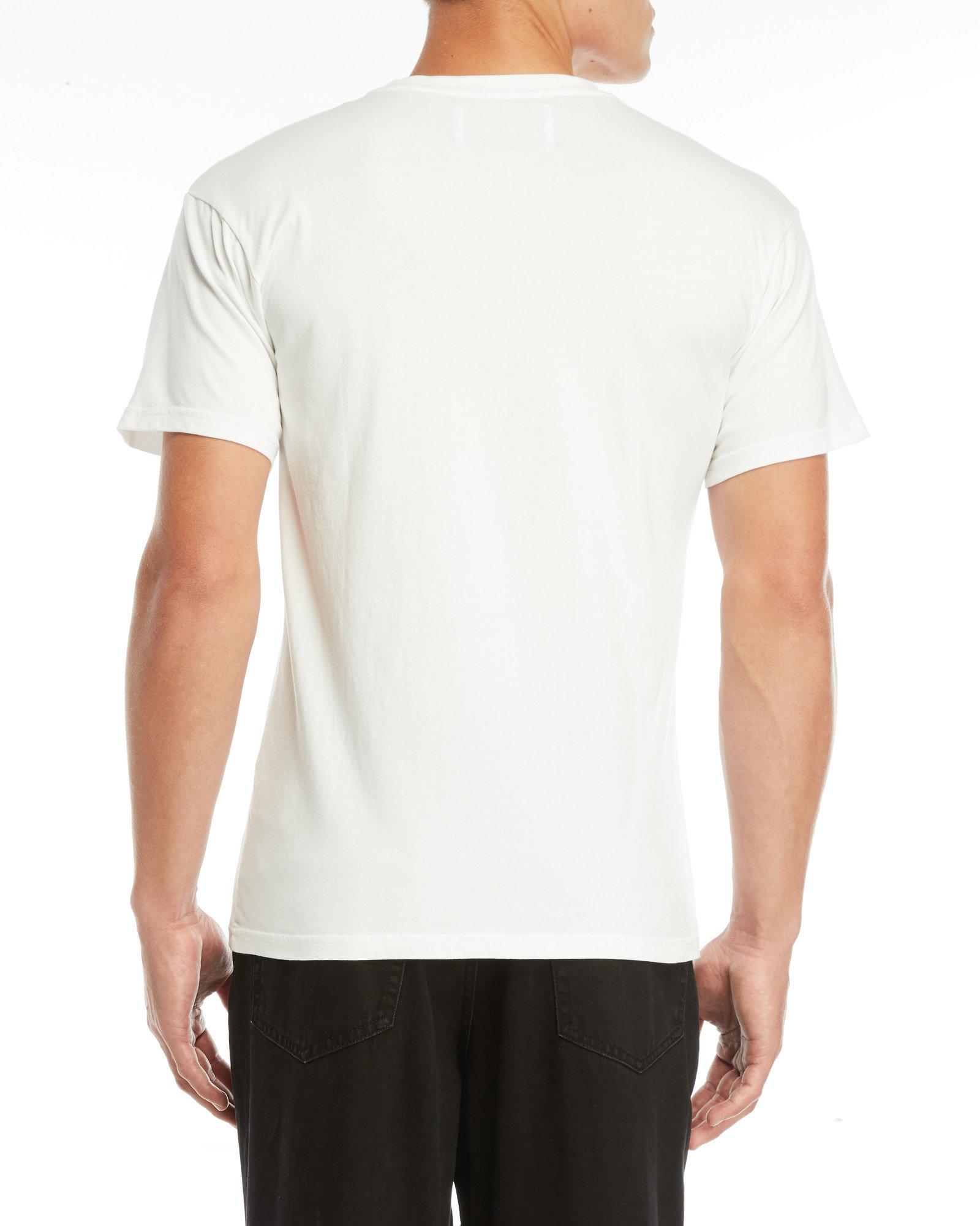 55d392d082d Lyst - Han Kjobenhavn Casual Logo Tee in White for Men