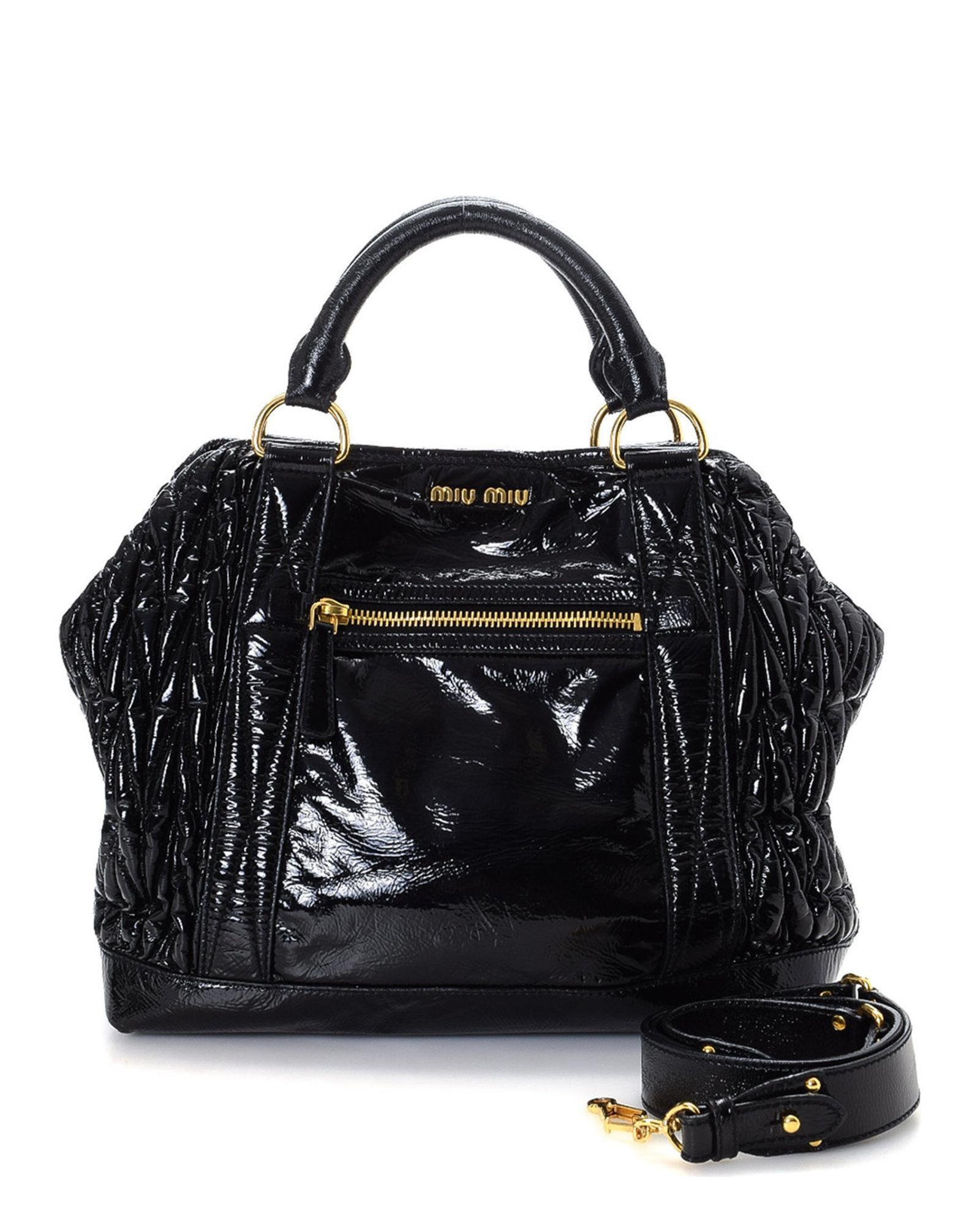 fc5d38a4f38b Lyst - Miu Miu Handbag - Vintage in Black