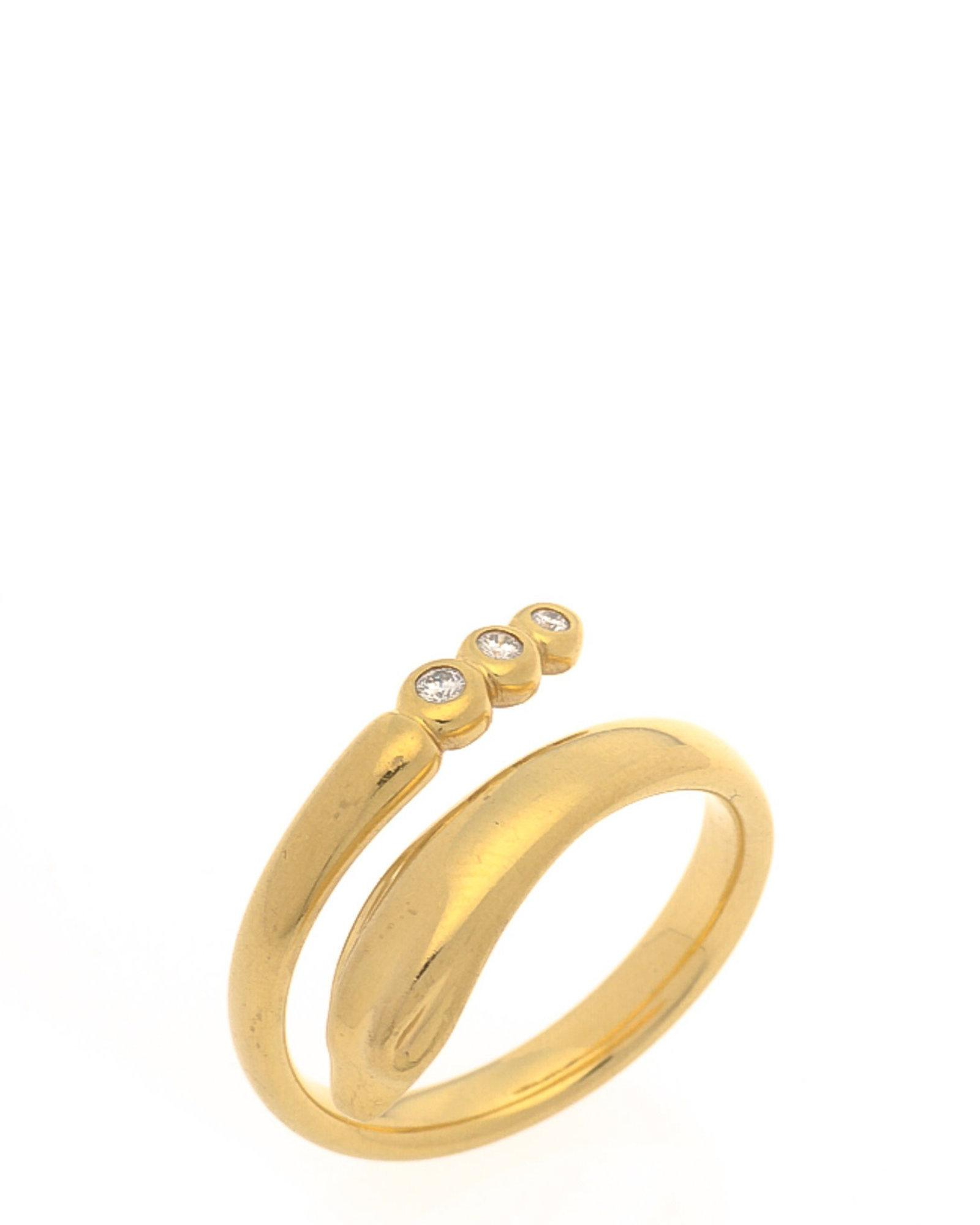 9c8f5edeb Tiffany & Co. Elsa Peretti Snake Ring - Vintage in Metallic - Lyst