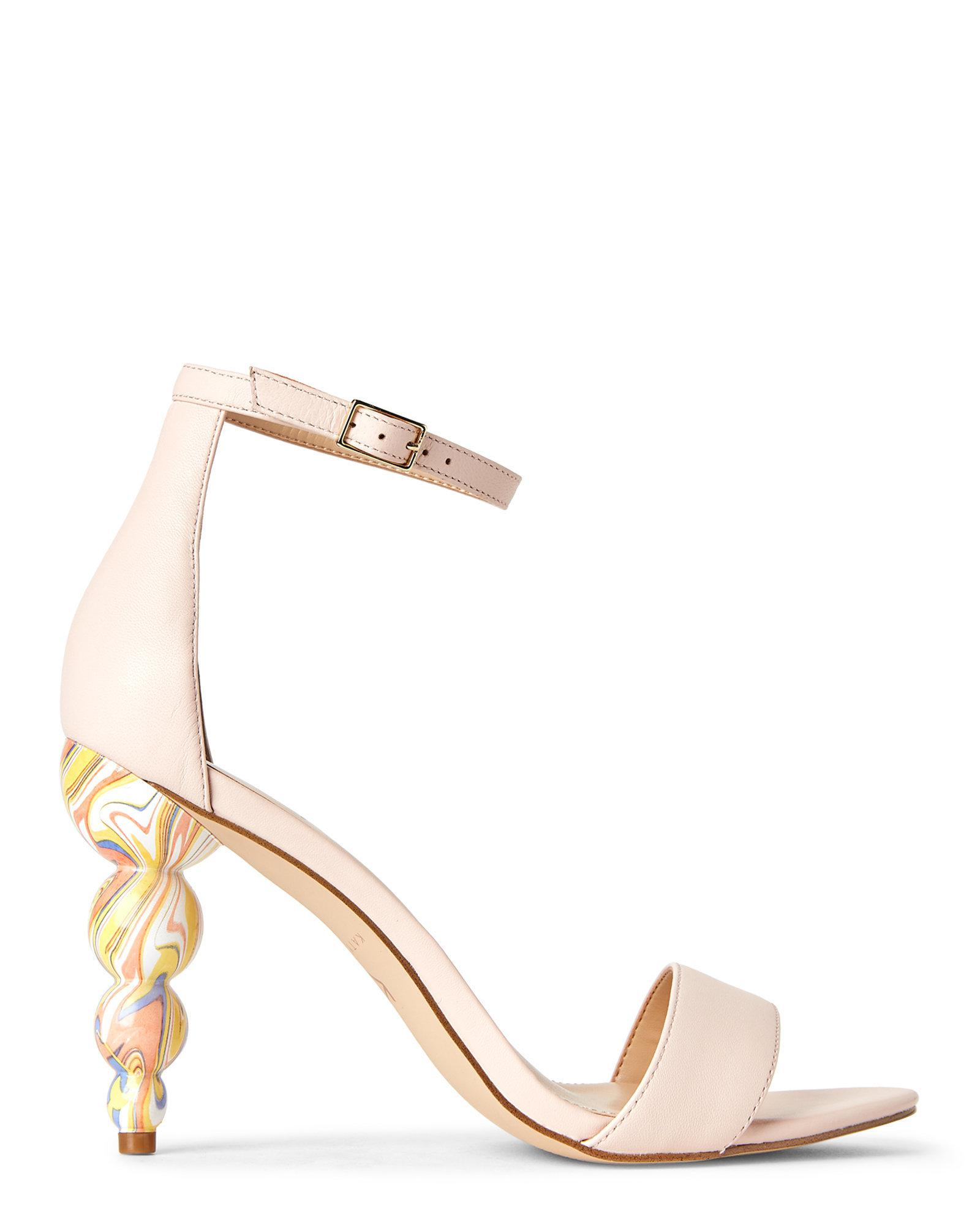 Katy Perry Natural Nude Tabitha Ankle Strap Sandals