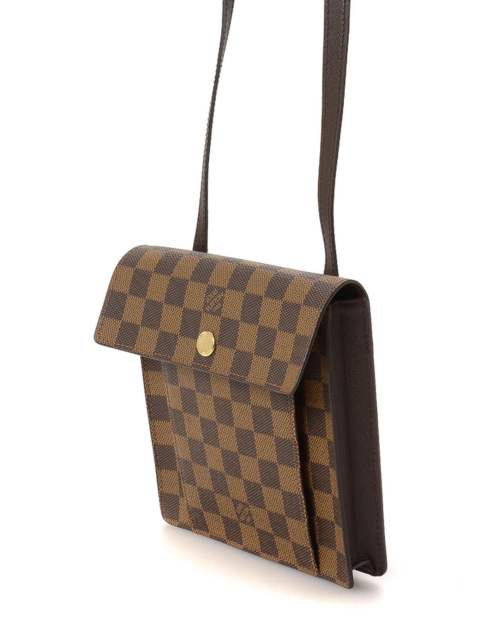 e29539cbe316 Lyst - Louis Vuitton Pimlico Crossbody - Vintage in Brown