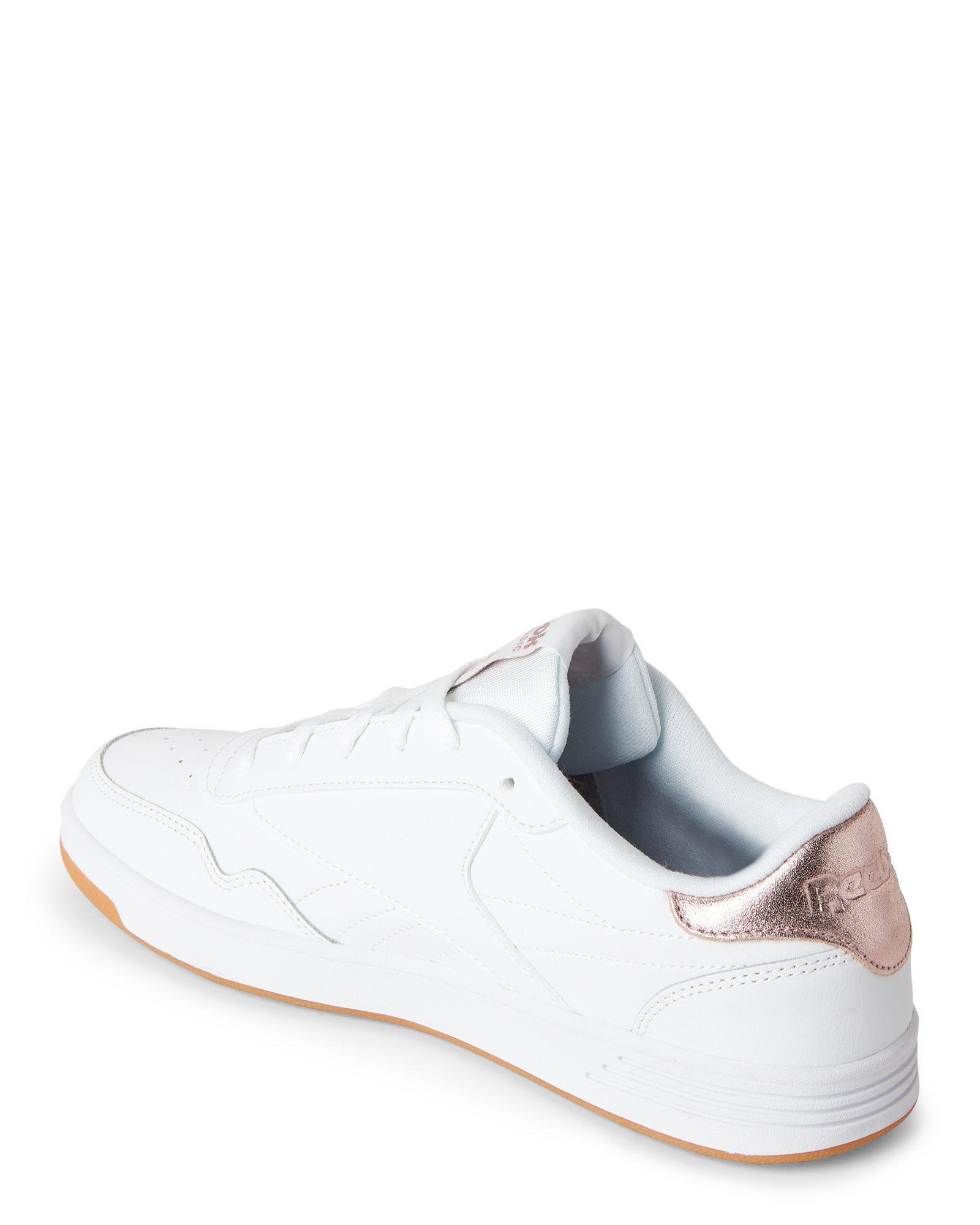 62c71502d2c7 Lyst - Reebok White Club Memt Sneakers in White
