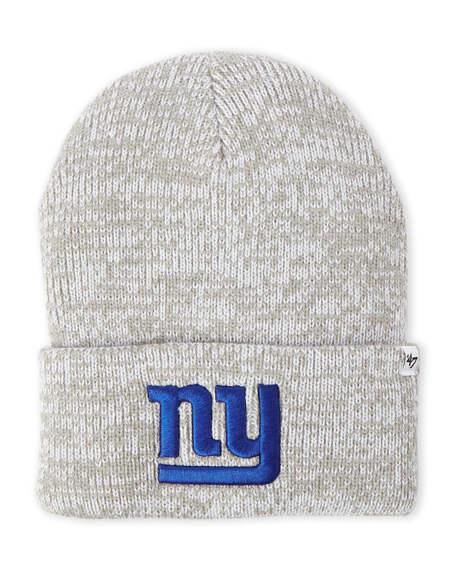 bfe849bec7a Lyst - 47 Brand New York Giants Raised Cuff Beanie in Gray for Men