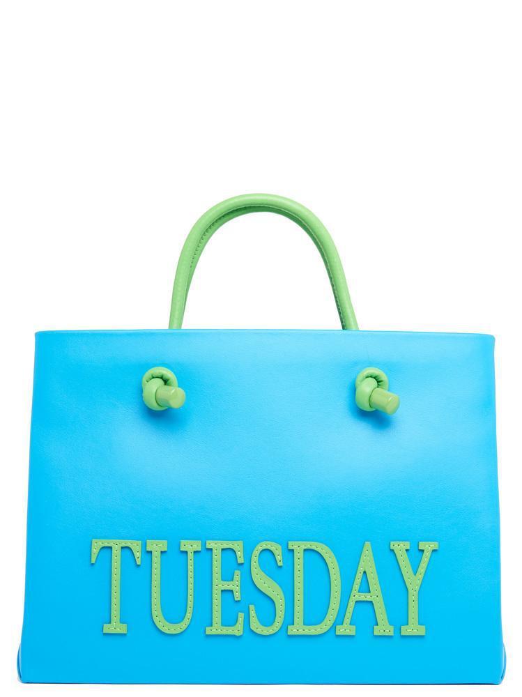 Shop For Sale Sale Wiki small Monday tote - Yellow & Orange Alberta Ferretti Discount 2018 5jjnpA