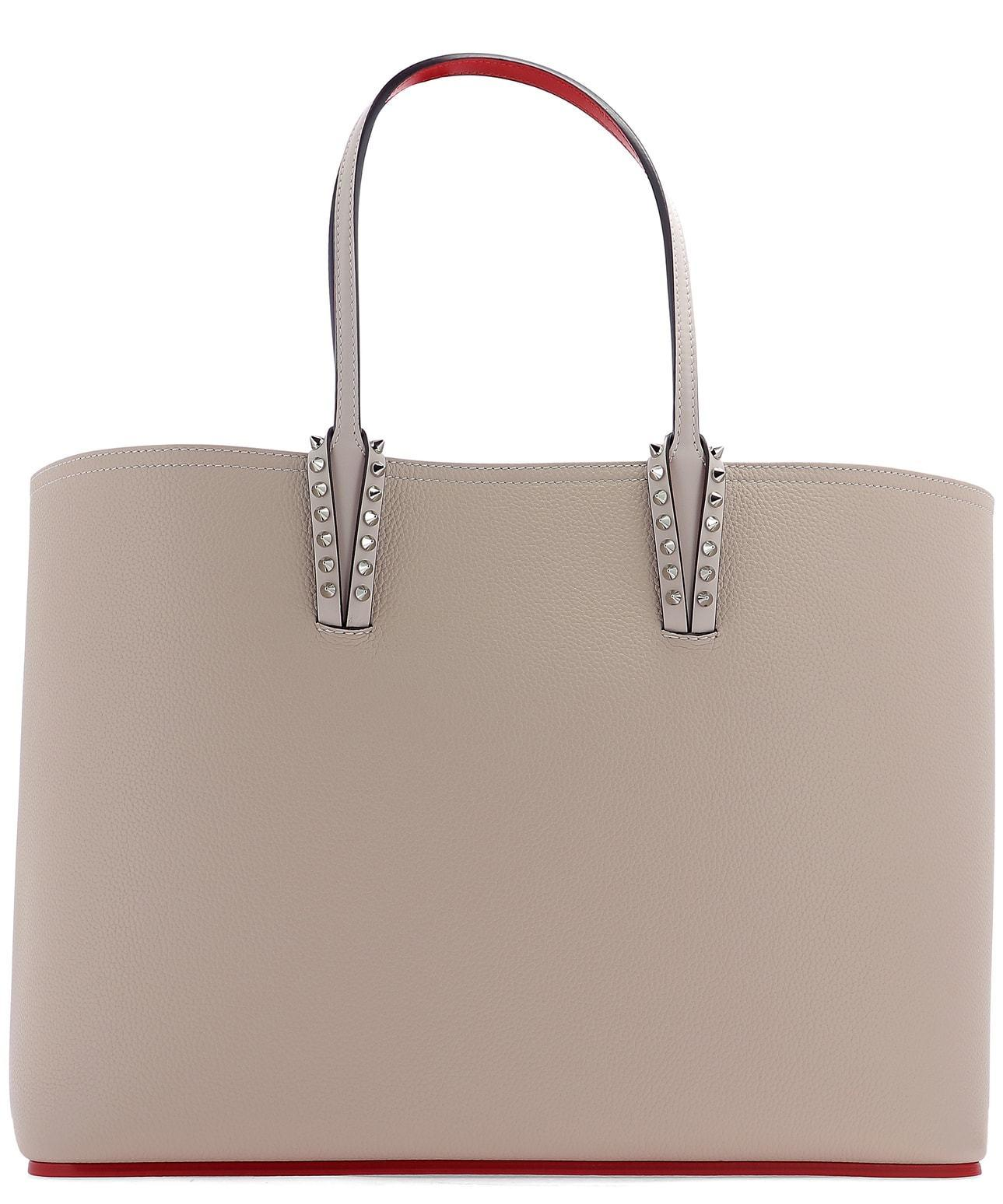 41a3c2e0de8b Lyst - Christian Louboutin Cabata Tote Bag in Natural
