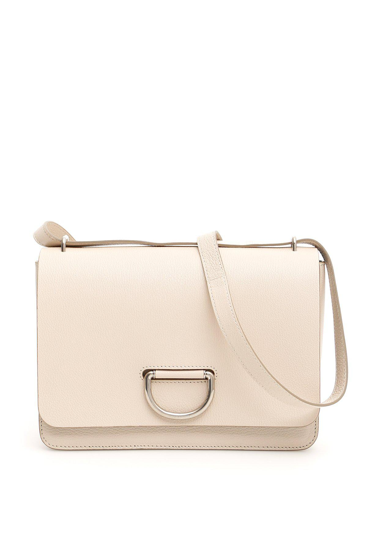 43a6935fd6cf Lyst - Burberry D-ring Shoulder Bag in Natural