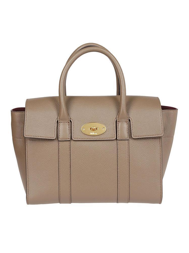 674df99641 Mulberry Bayswater Small Tote Bag in Natural - Lyst