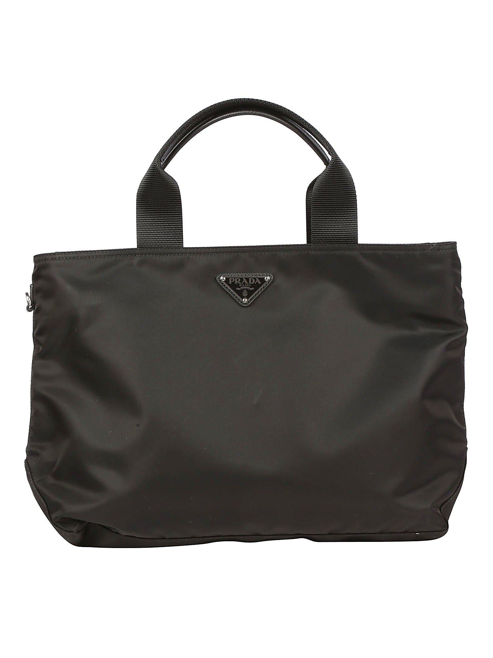 4560ee6cdc29 Prada Medium Tote Bag in Black - Lyst