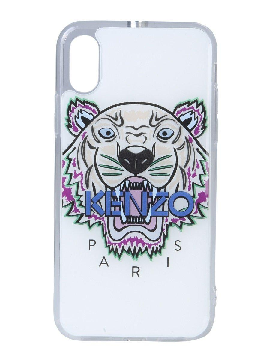 044396a37 KENZO Tiger Iphone X Case in White for Men - Lyst