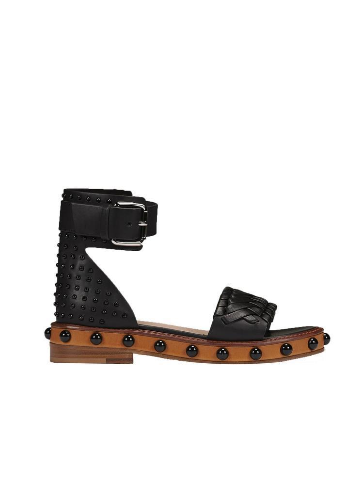 studded strap sandals - Black Red Valentino PfYa0mI