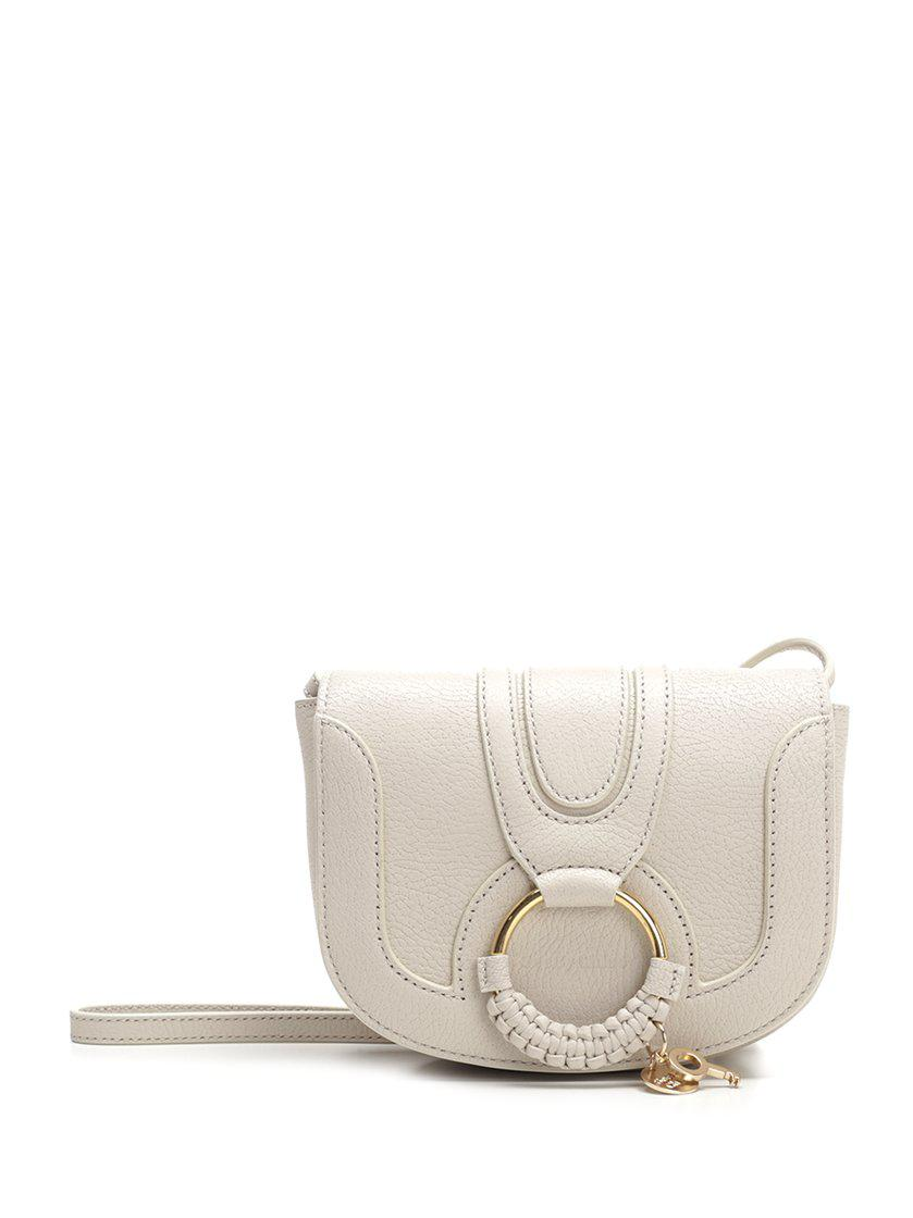 ad15a2087ce5 Lyst - See By Chloé Mini Hana Shoulder Bag in White