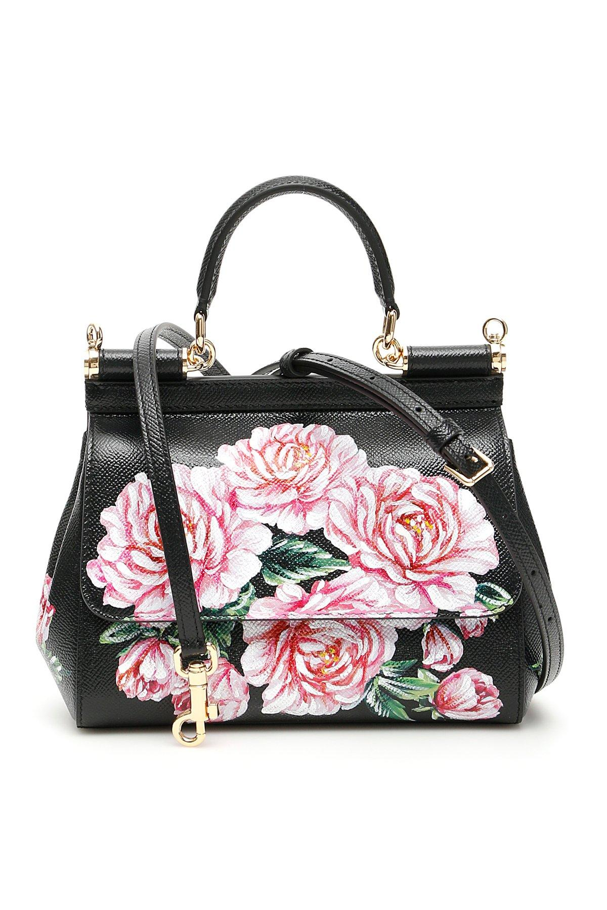 eaa455d23c Dolce   Gabbana Small Sicily Top Handle Bag in Black - Save 10% - Lyst