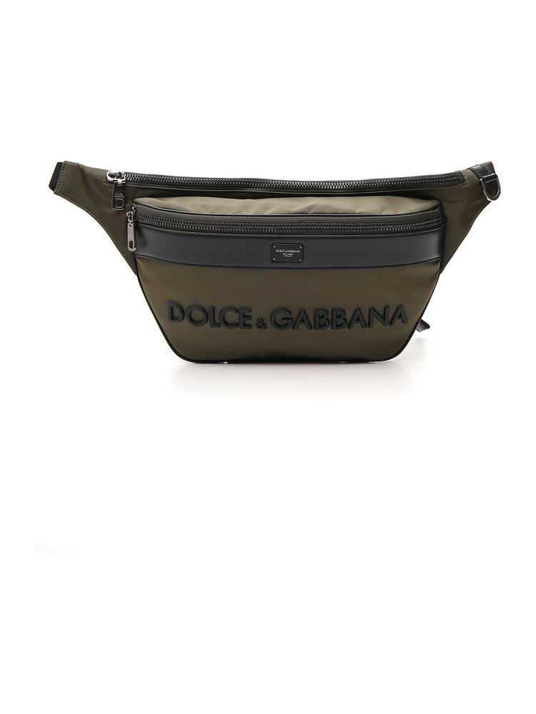 8098005cb510 Lyst - Dolce & Gabbana Logo Fanny Pack in Green for Men