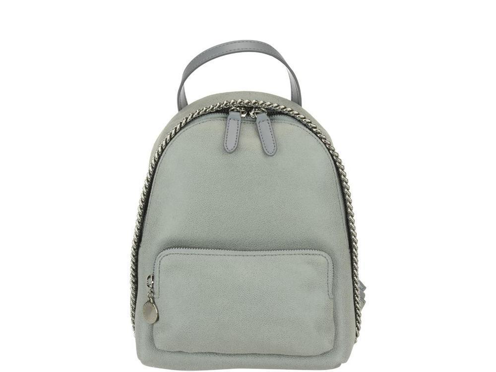 171da0019962 Lyst - Stella Mccartney Mini Falabella Backpack in Gray