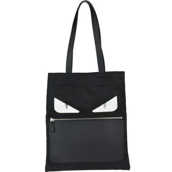 8041a96250ee Lyst - Fendi Bag Bugs Slim Tote Bag in Black