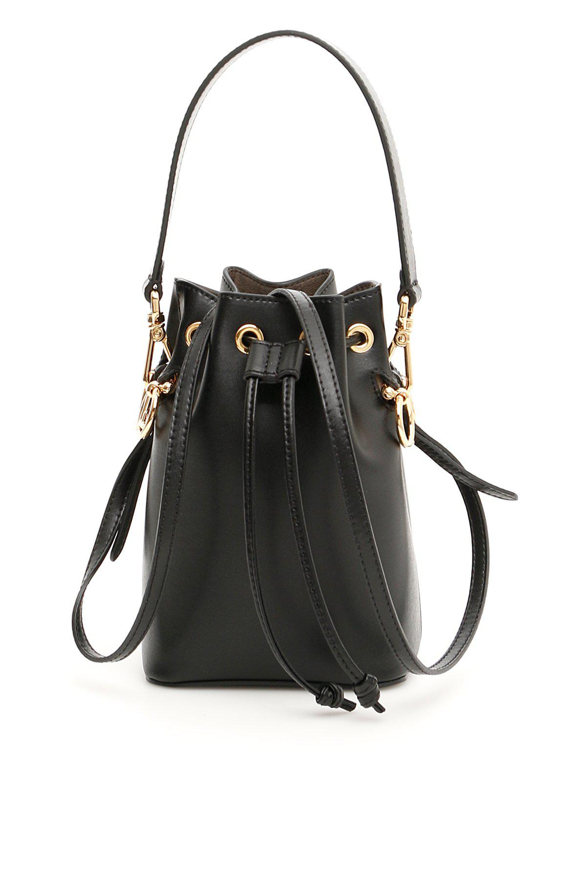 Fendi Small Bucket Bag in Black - Lyst c5c33ab2f141a