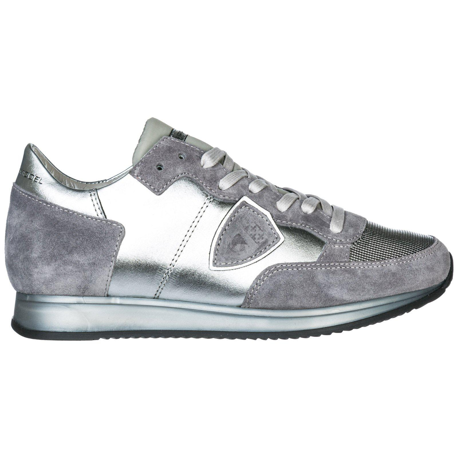 In Philippe Sneakers Model Panel Lyst Texture Metallic aTwAqx0