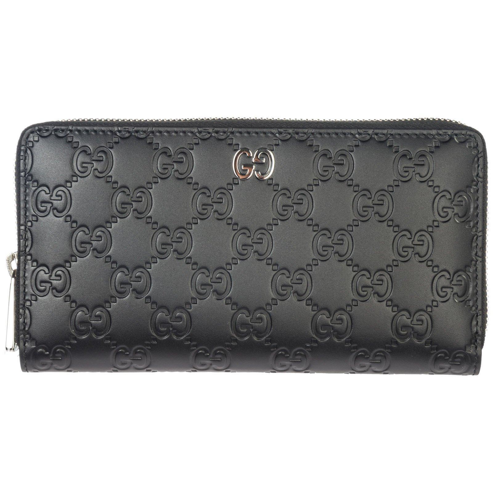 cb2109065 Lyst - Gucci Classic Zip Around Wallet in Black for Men