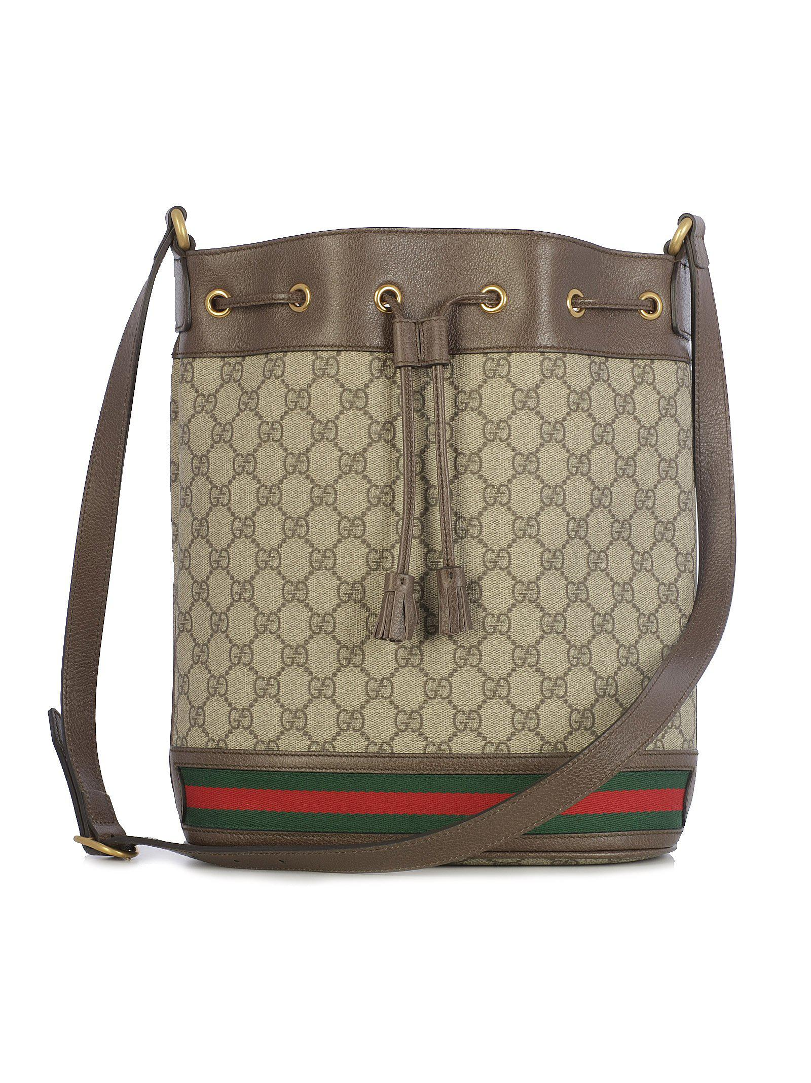 a5e96ae49065a3 Gucci - Multicolor Ophidia Gg Bucket Bag - Lyst