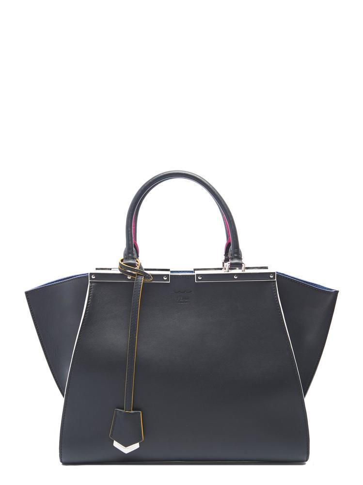 Fendi 3 Jours Tote Bag in Black - Lyst 084f162ca348a