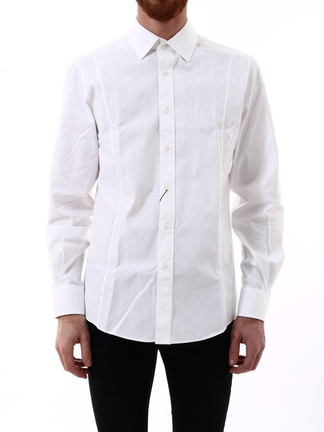 1c5cbe633 Gucci Classic Fit Shirt in White for Men - Lyst