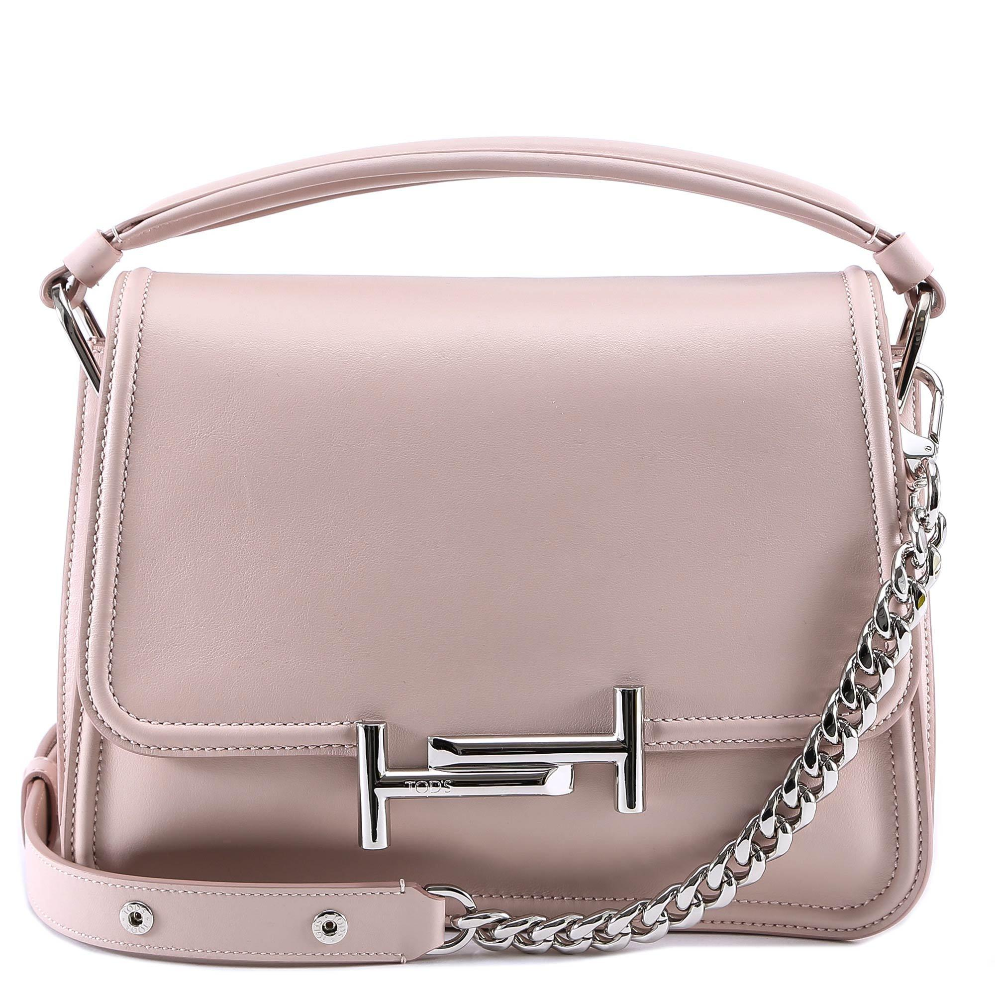 fd6288577d Tod's Small Double T Bag in Pink - Lyst